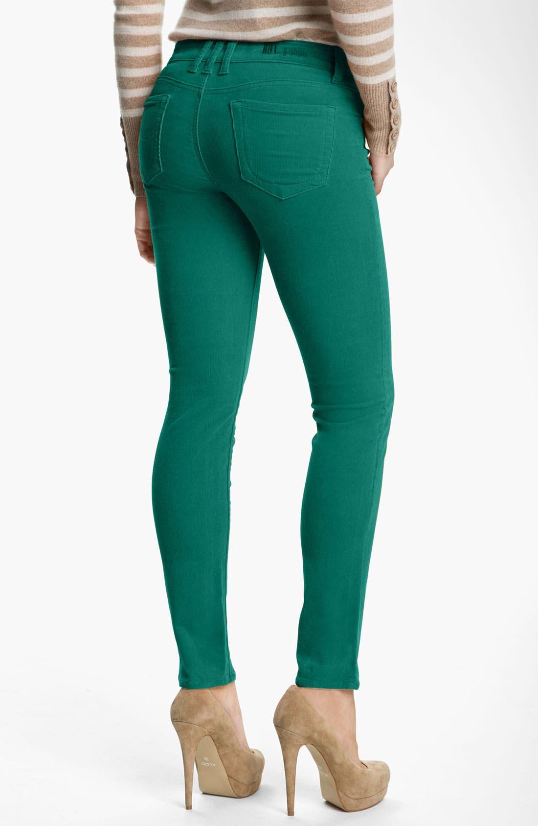 'Diana' Stretch Corduroy Skinny Pants,                             Alternate thumbnail 130, color,