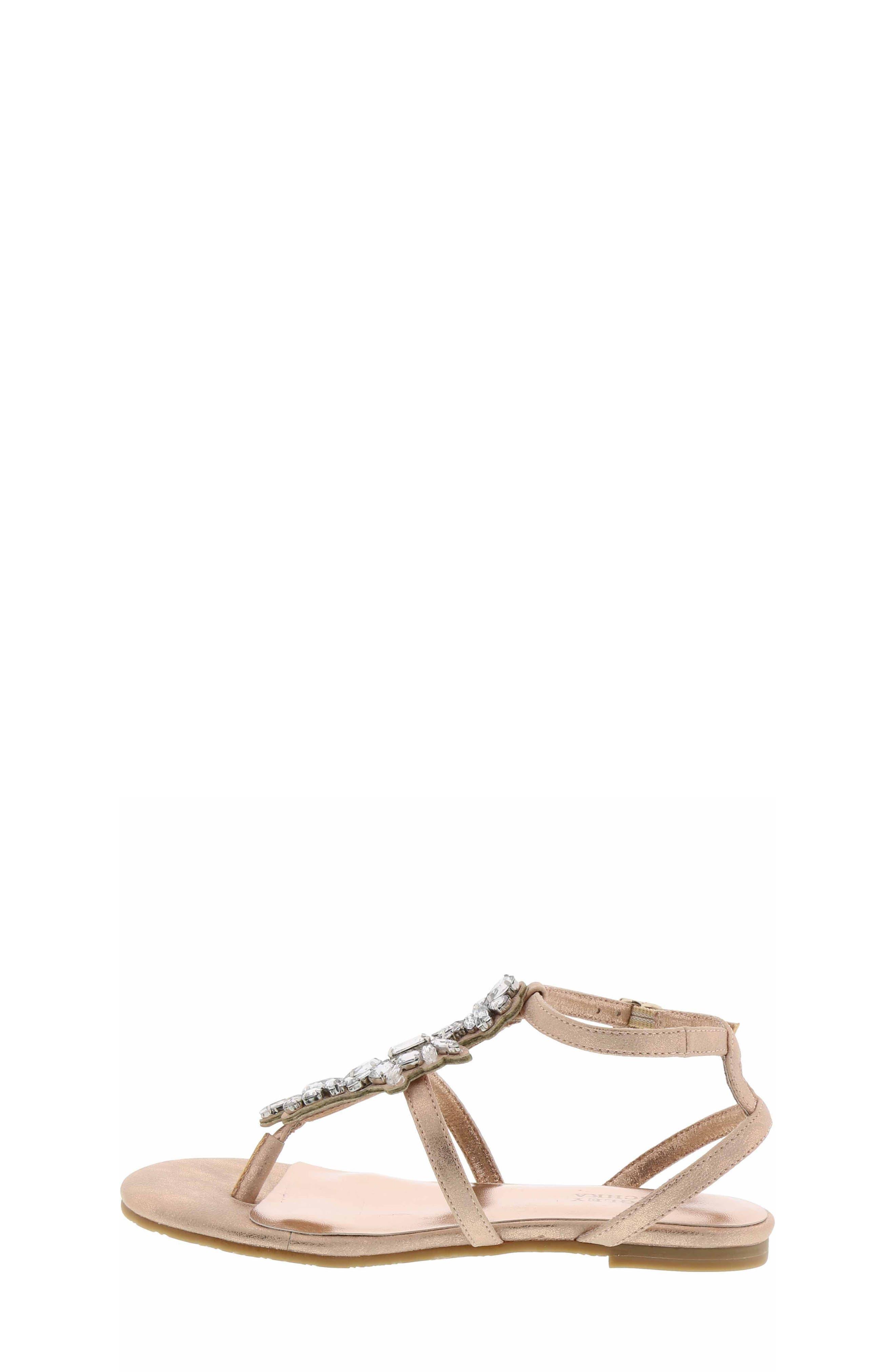 Cara Barstow Embellished Sandal,                             Alternate thumbnail 6, color,