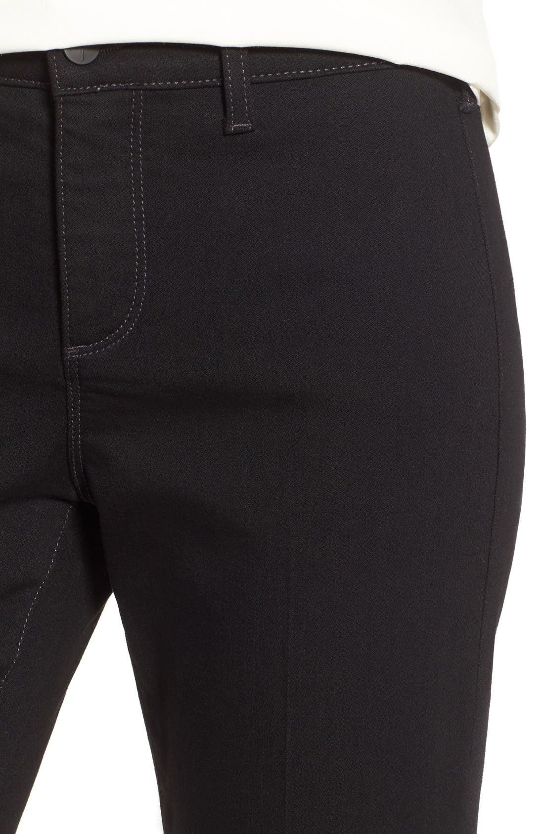 'Teresa' Wide Leg Trouser Jeans,                             Alternate thumbnail 5, color,                             007