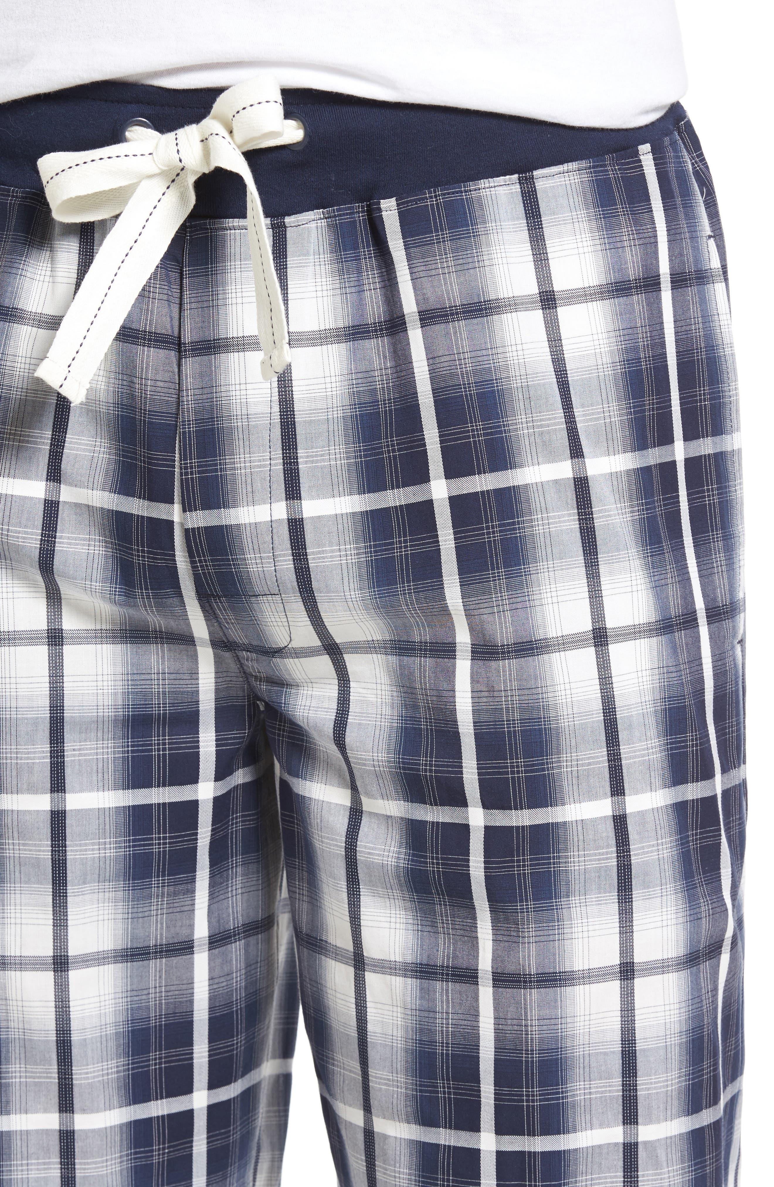 Mad 4 Plaid Lounge Pants,                             Alternate thumbnail 4, color,                             410