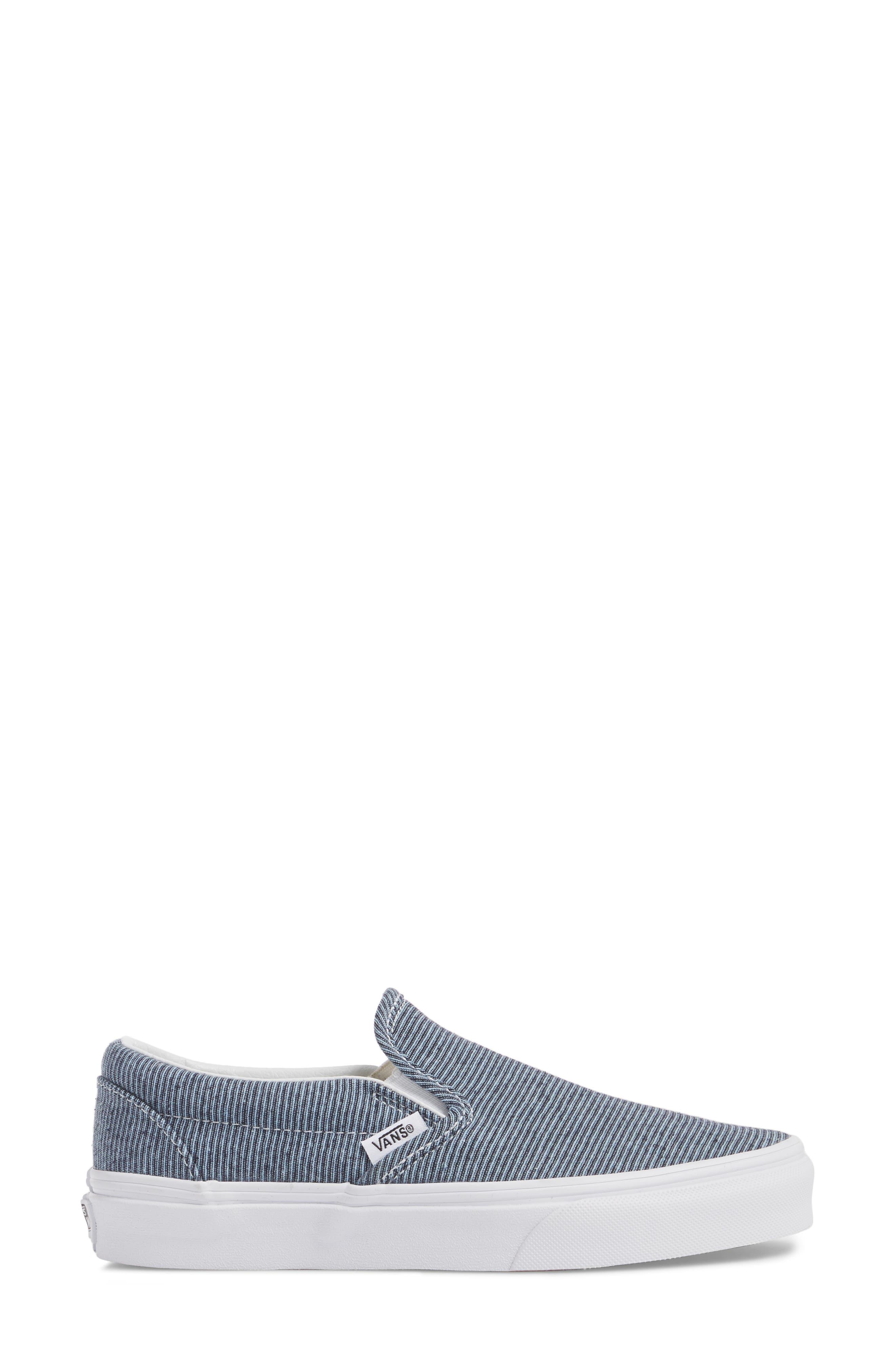 Classic Slip-On Sneaker,                             Alternate thumbnail 201, color,