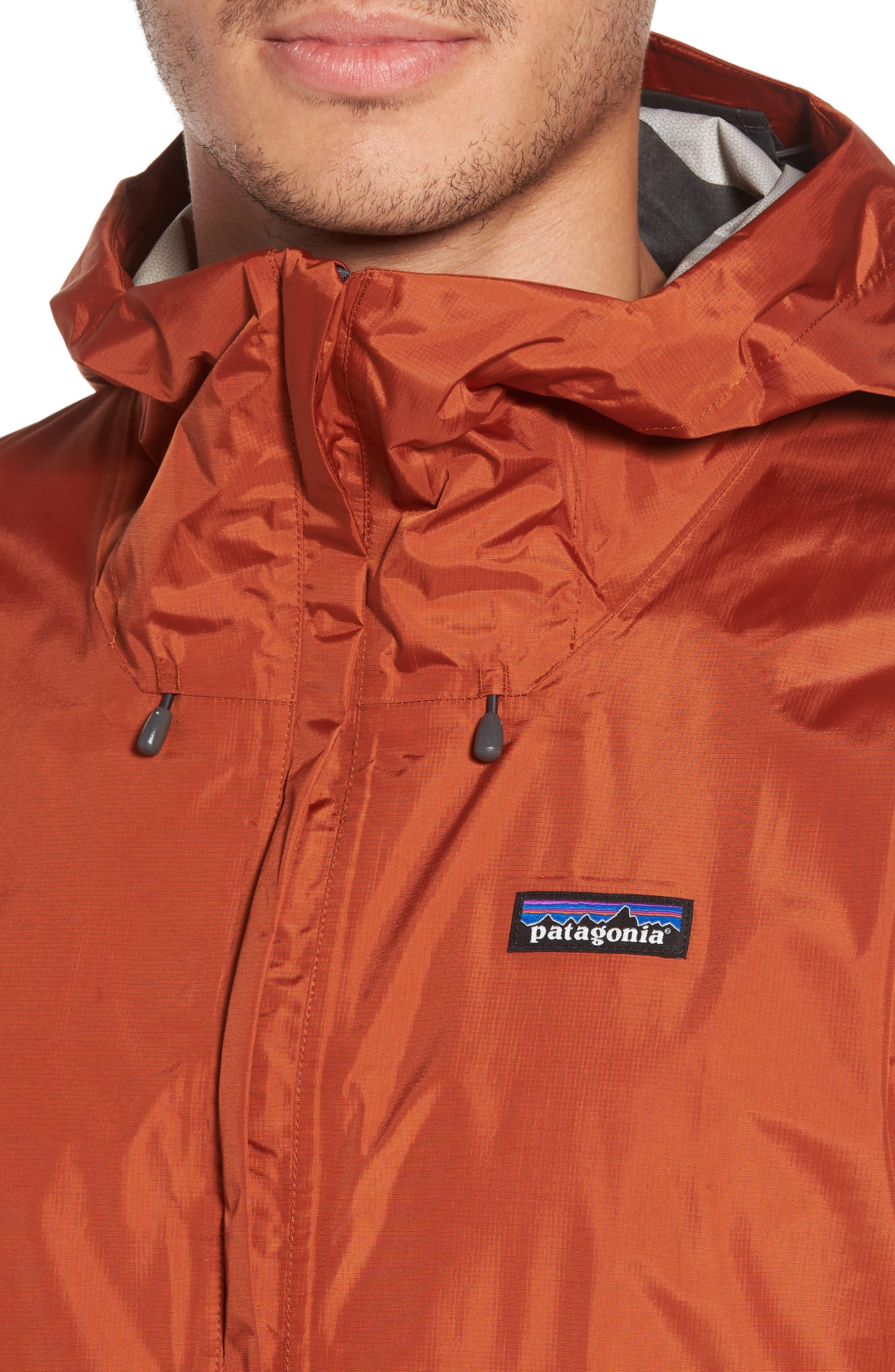 Torrentshell Packable Regular Fit Rain Jacket,                             Alternate thumbnail 4, color,                             COPPER ORE