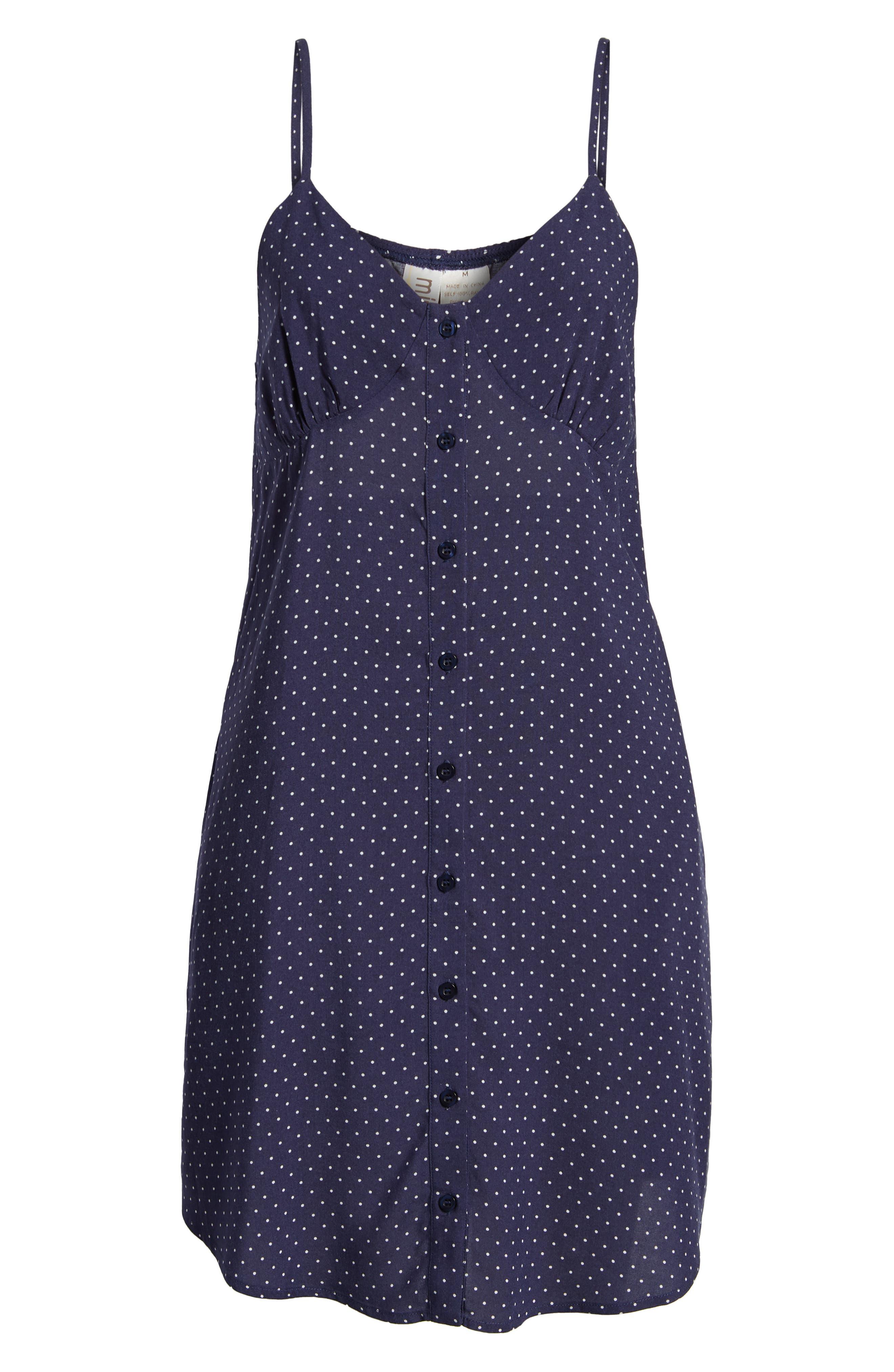 Button Front Dress,                             Alternate thumbnail 7, color,