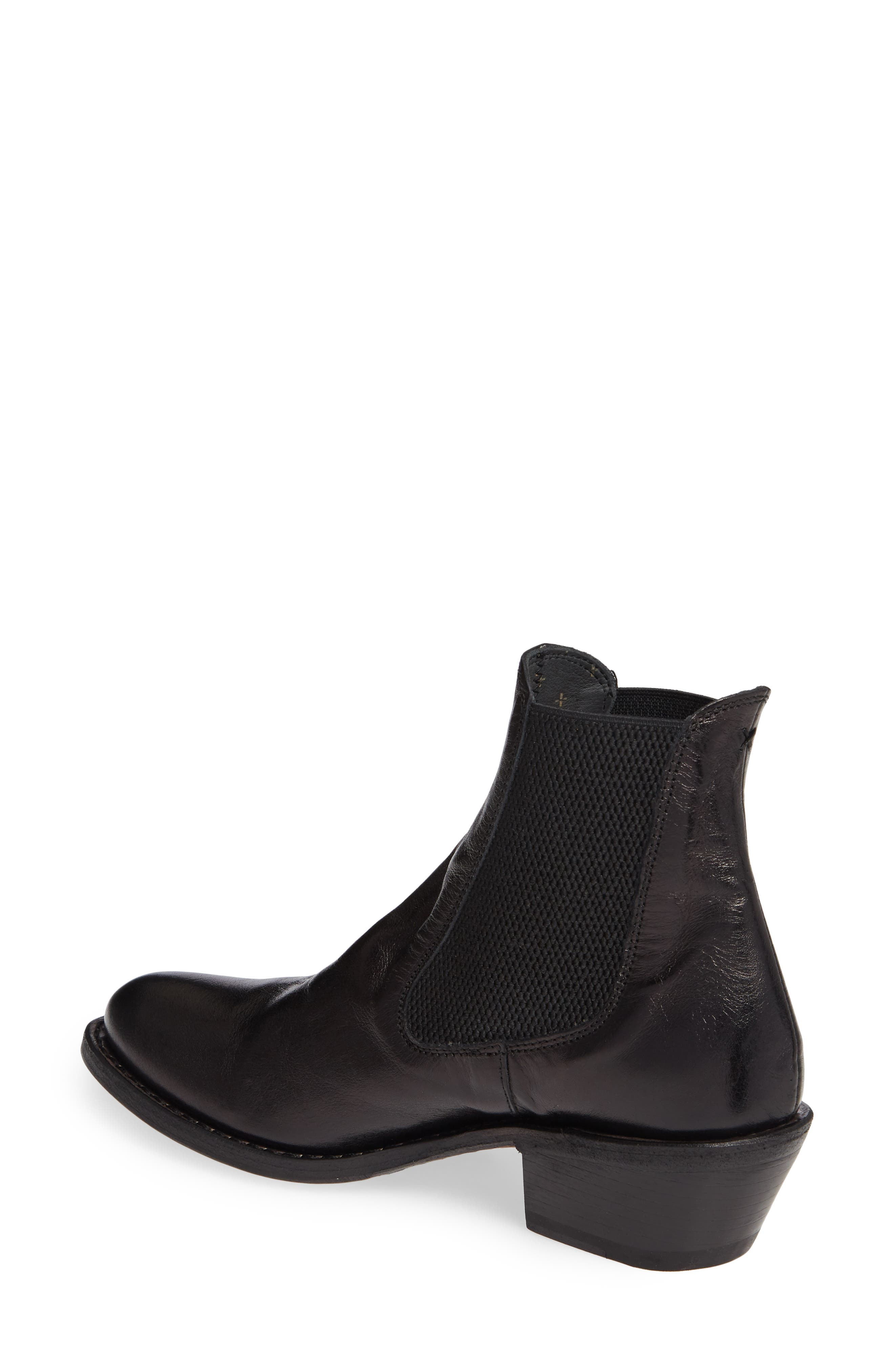 Roxy Boot,                             Alternate thumbnail 2, color,                             BLACK LEATHER
