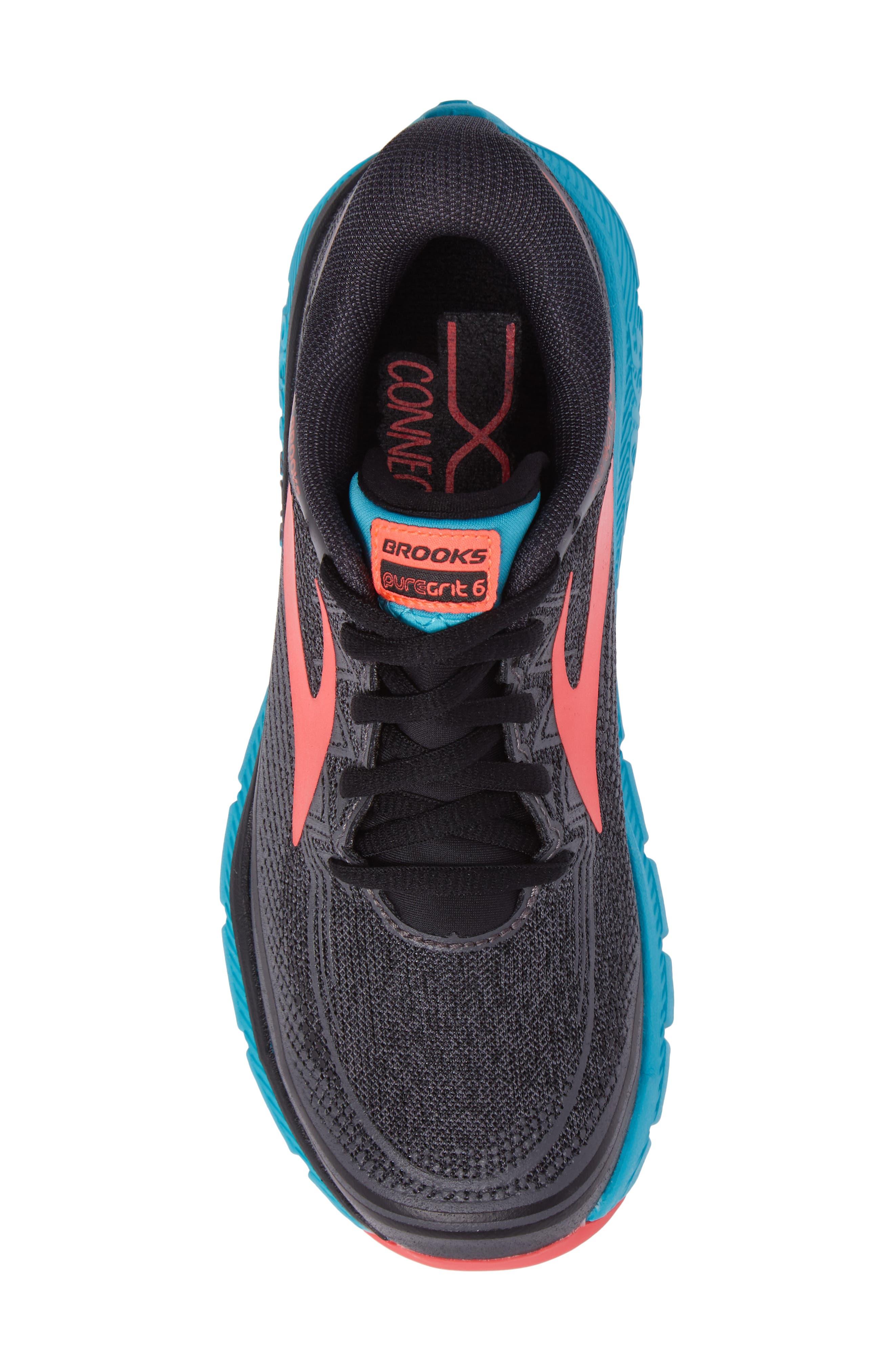 PureGrit 6 Trail Running Shoe,                             Alternate thumbnail 5, color,                             014