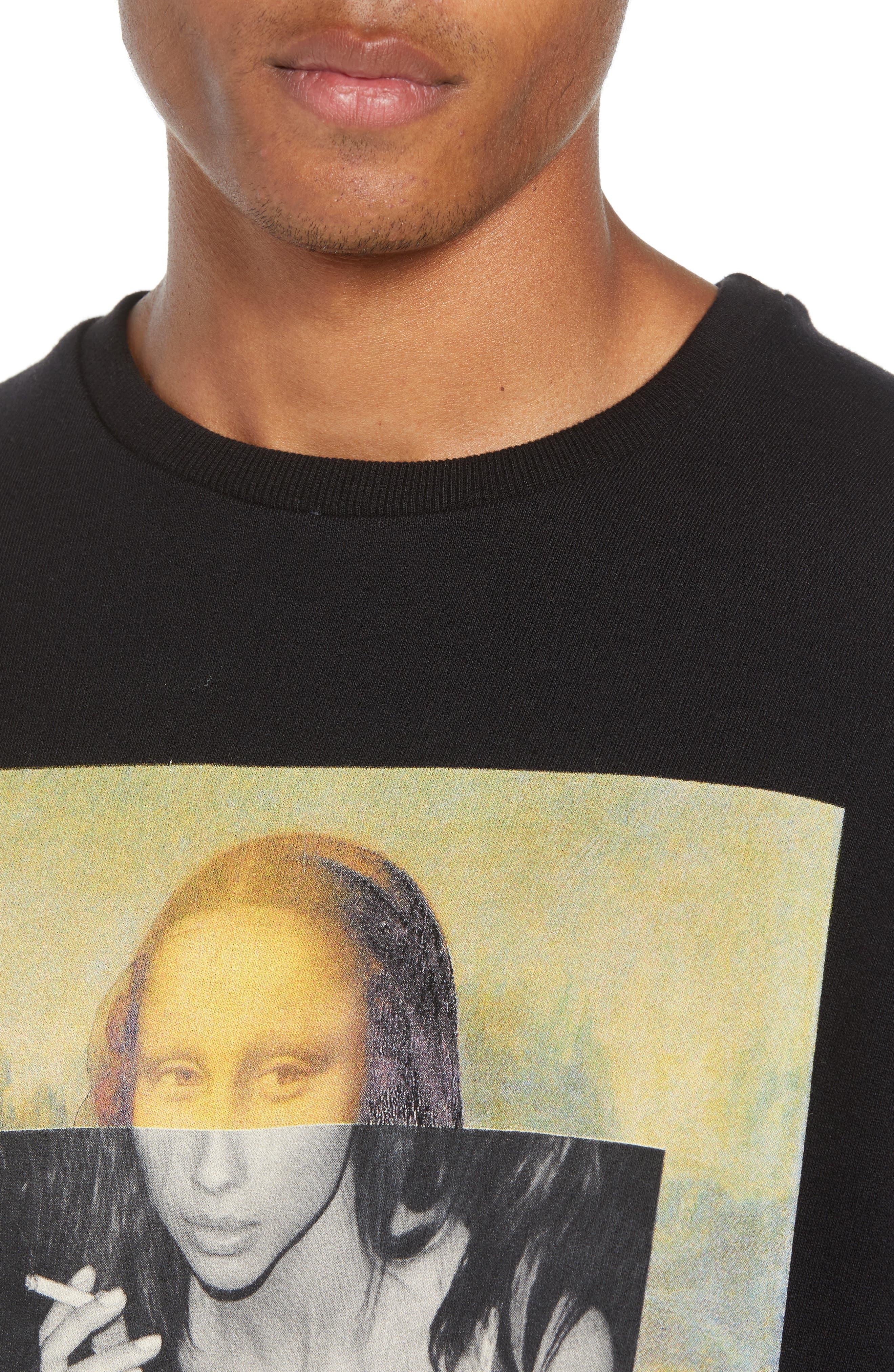 ELEVENPARIS,                             Renaissance Sweatshirt,                             Alternate thumbnail 4, color,                             002