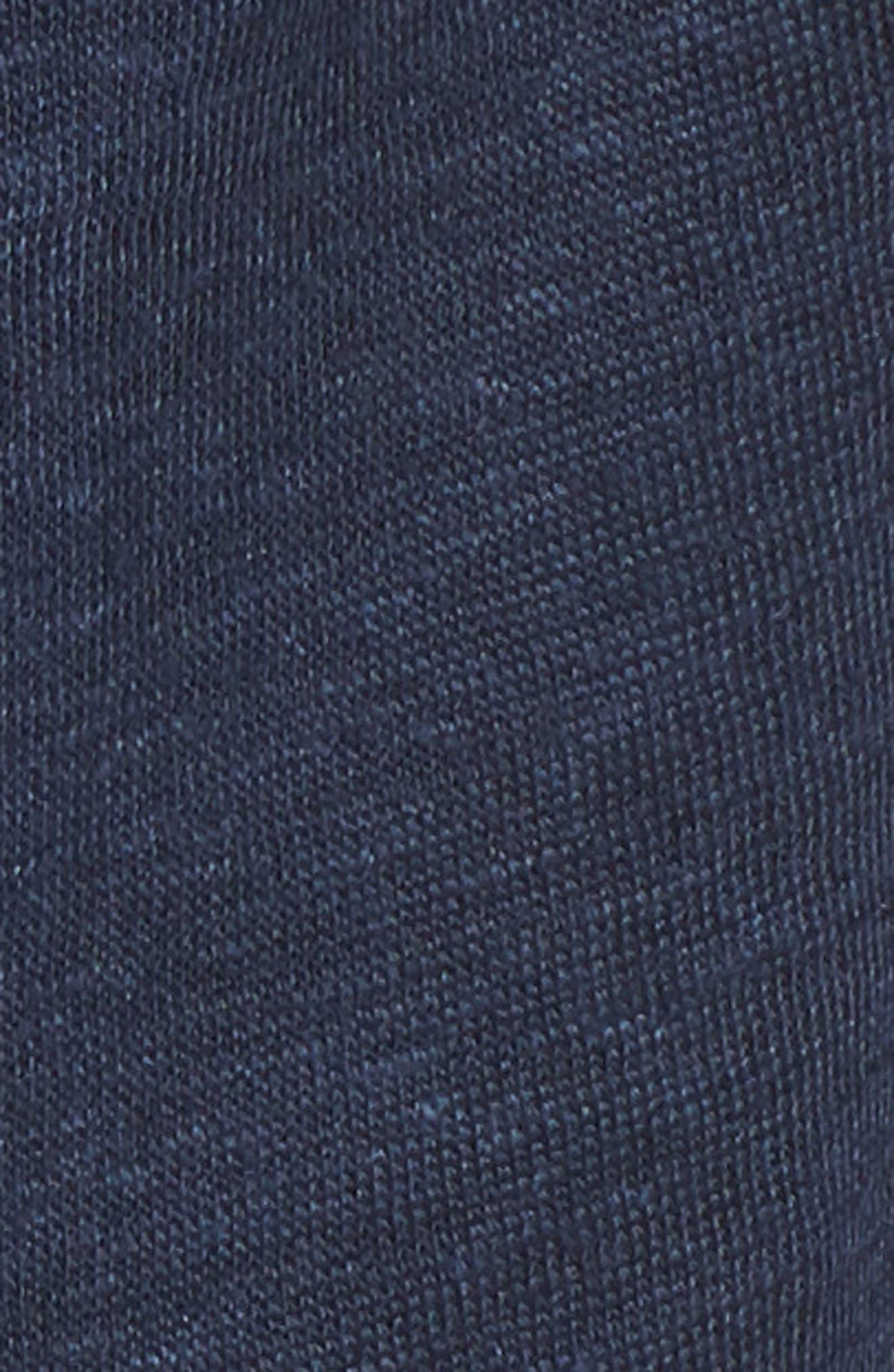 Ruffle Trim Lace Up Linen Top,                             Alternate thumbnail 5, color,                             411