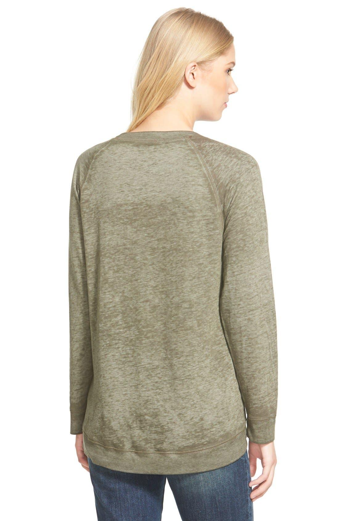 Burnout Sweatshirt,                             Alternate thumbnail 118, color,