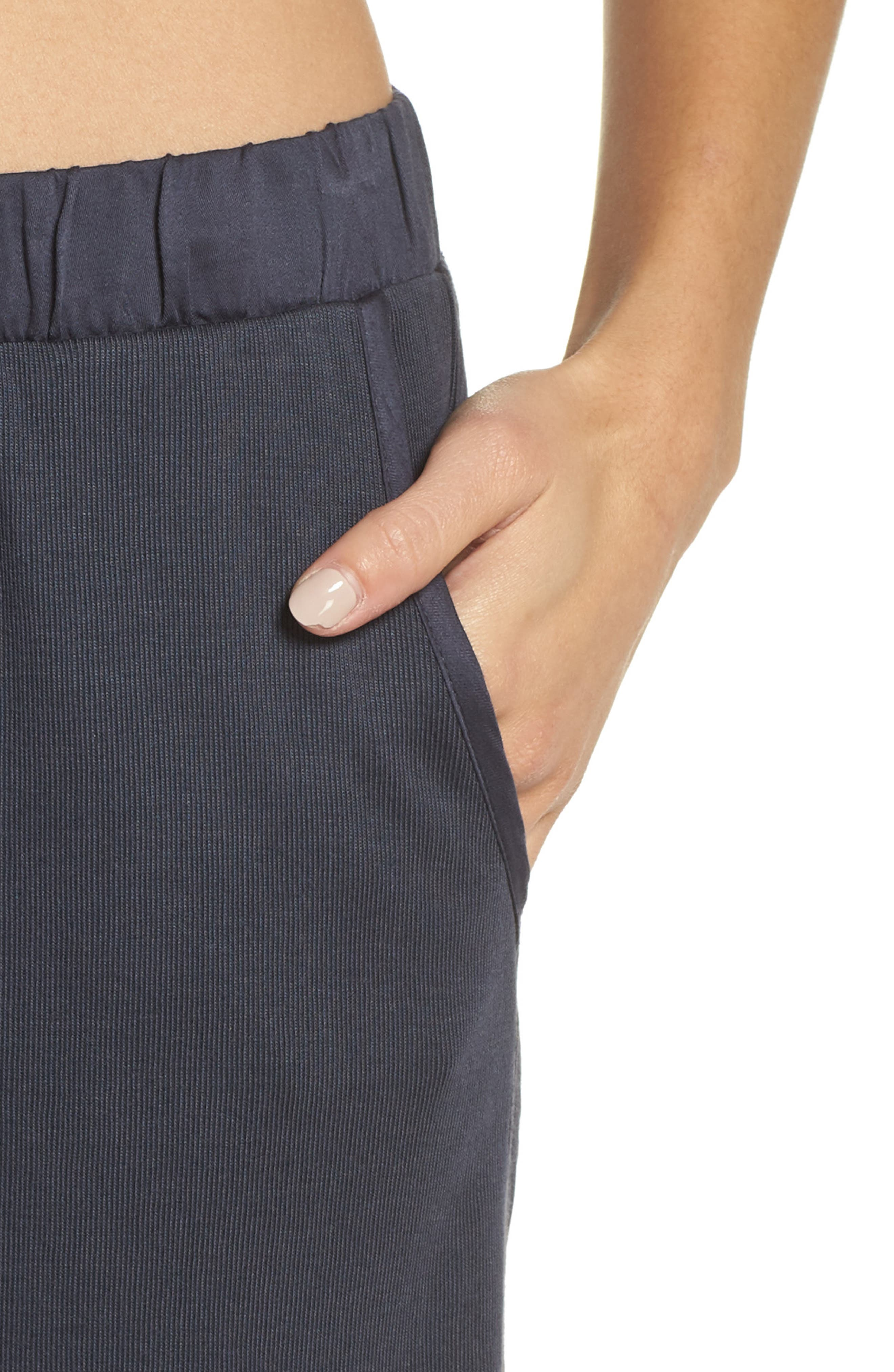 Ribbed Lounge Pants,                             Alternate thumbnail 4, color,                             DYNASTY