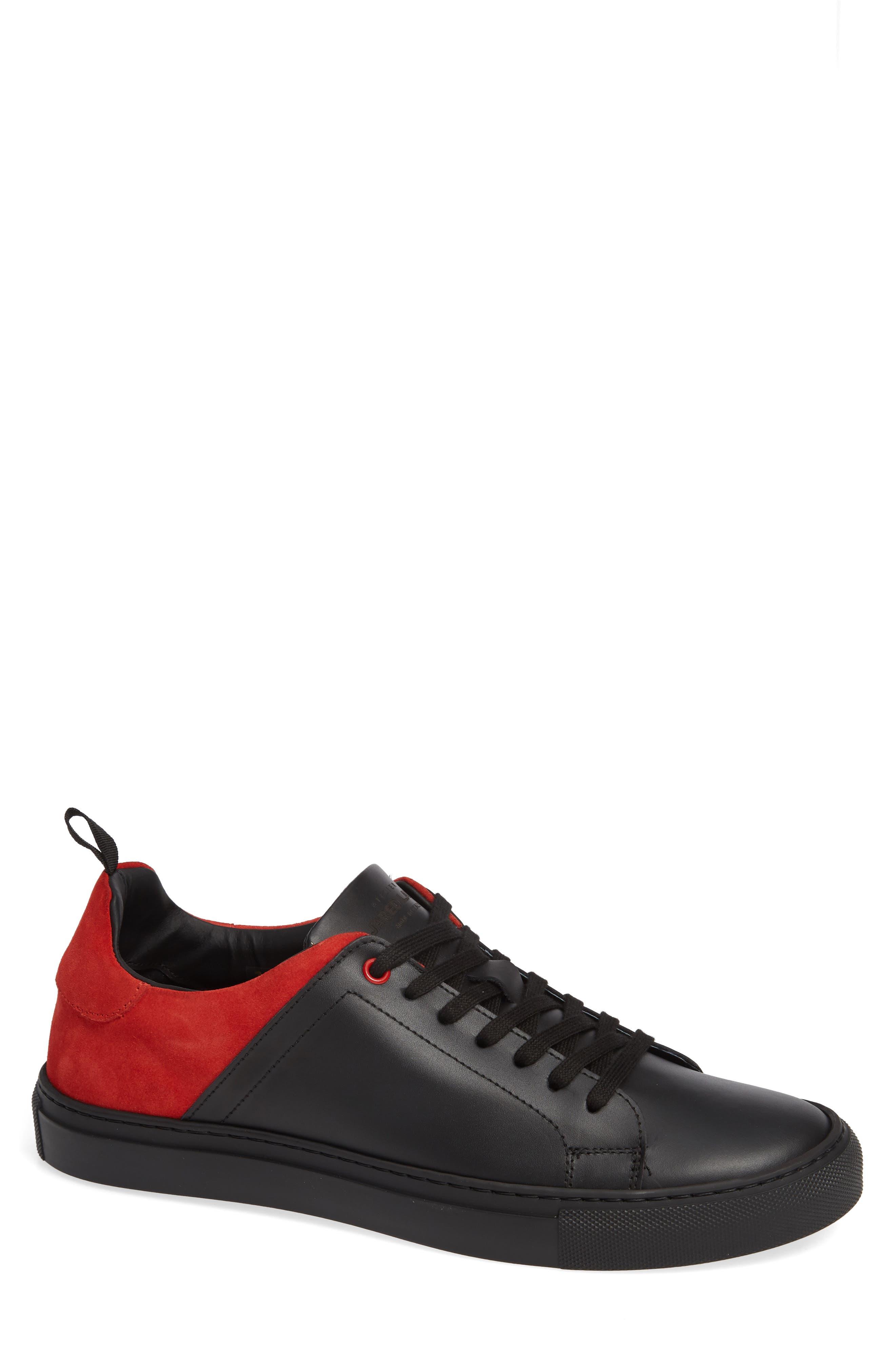 Rome Sneaker,                         Main,                         color, BLACK