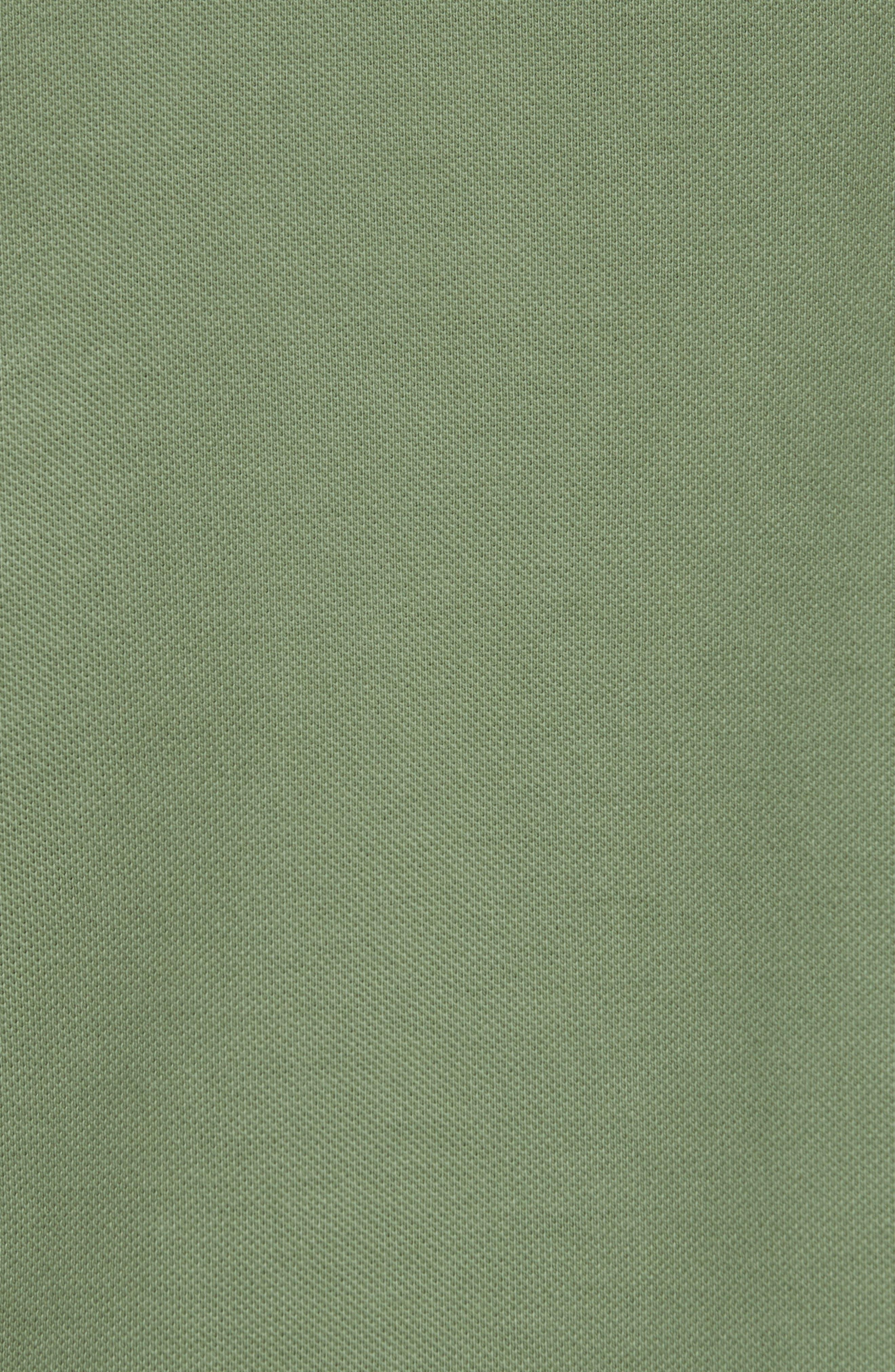 Rib Collar Piqué Polo,                             Alternate thumbnail 5, color,                             340