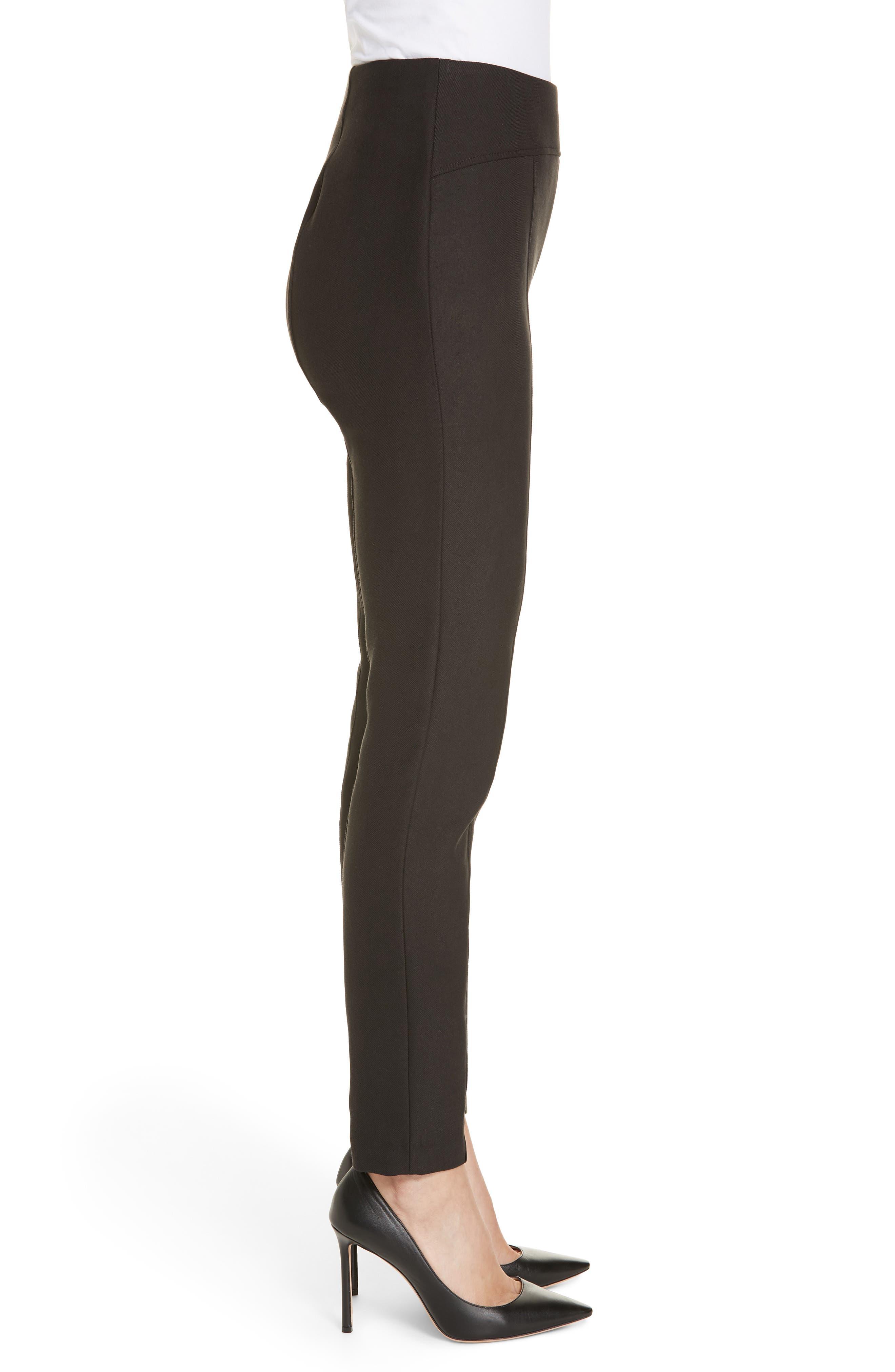 BOSS,                             Tileta Slim Leg Trousers,                             Alternate thumbnail 3, color,                             001