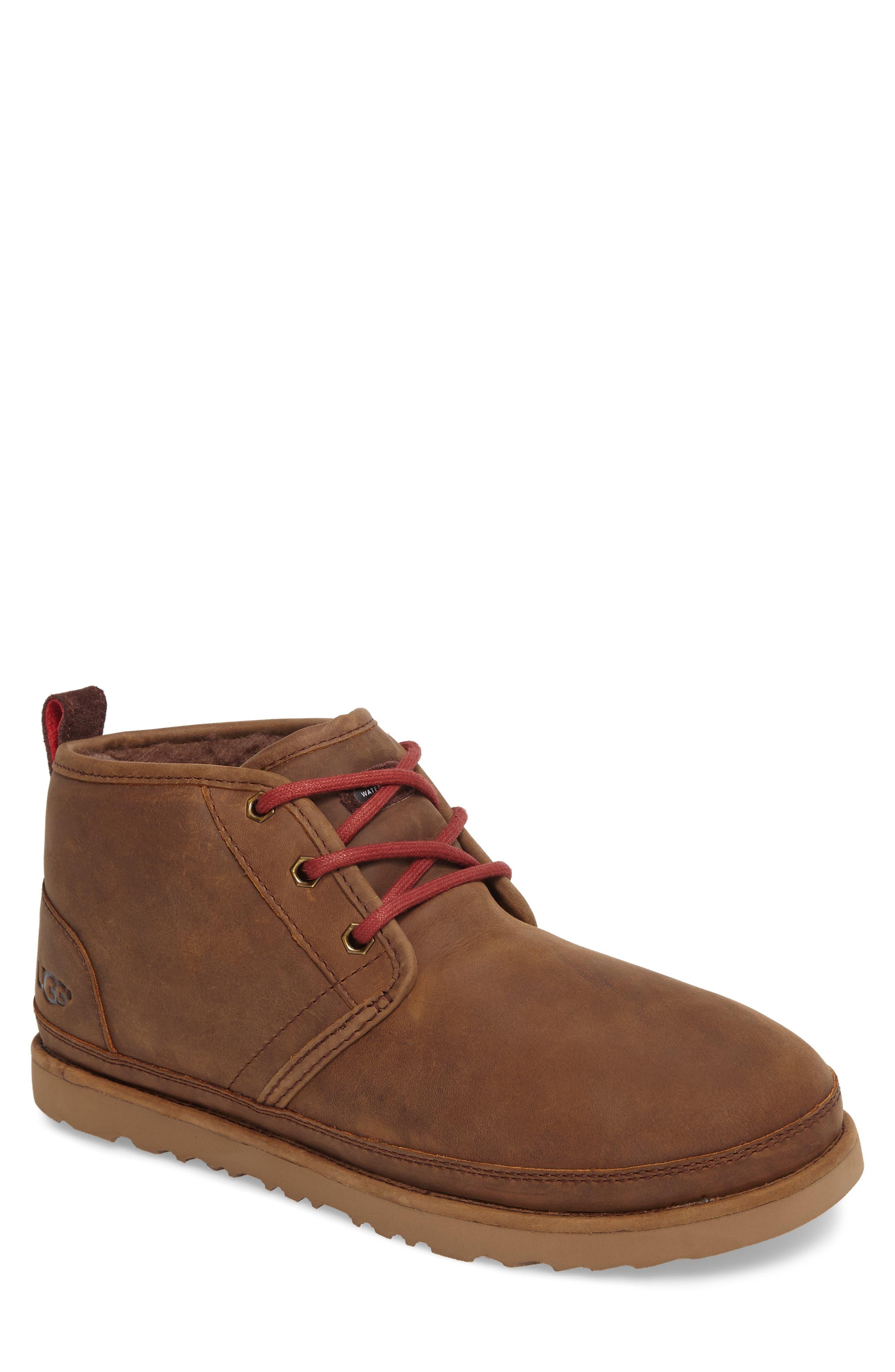 Ugg Neumel Waterproof Chukka Boot, Brown