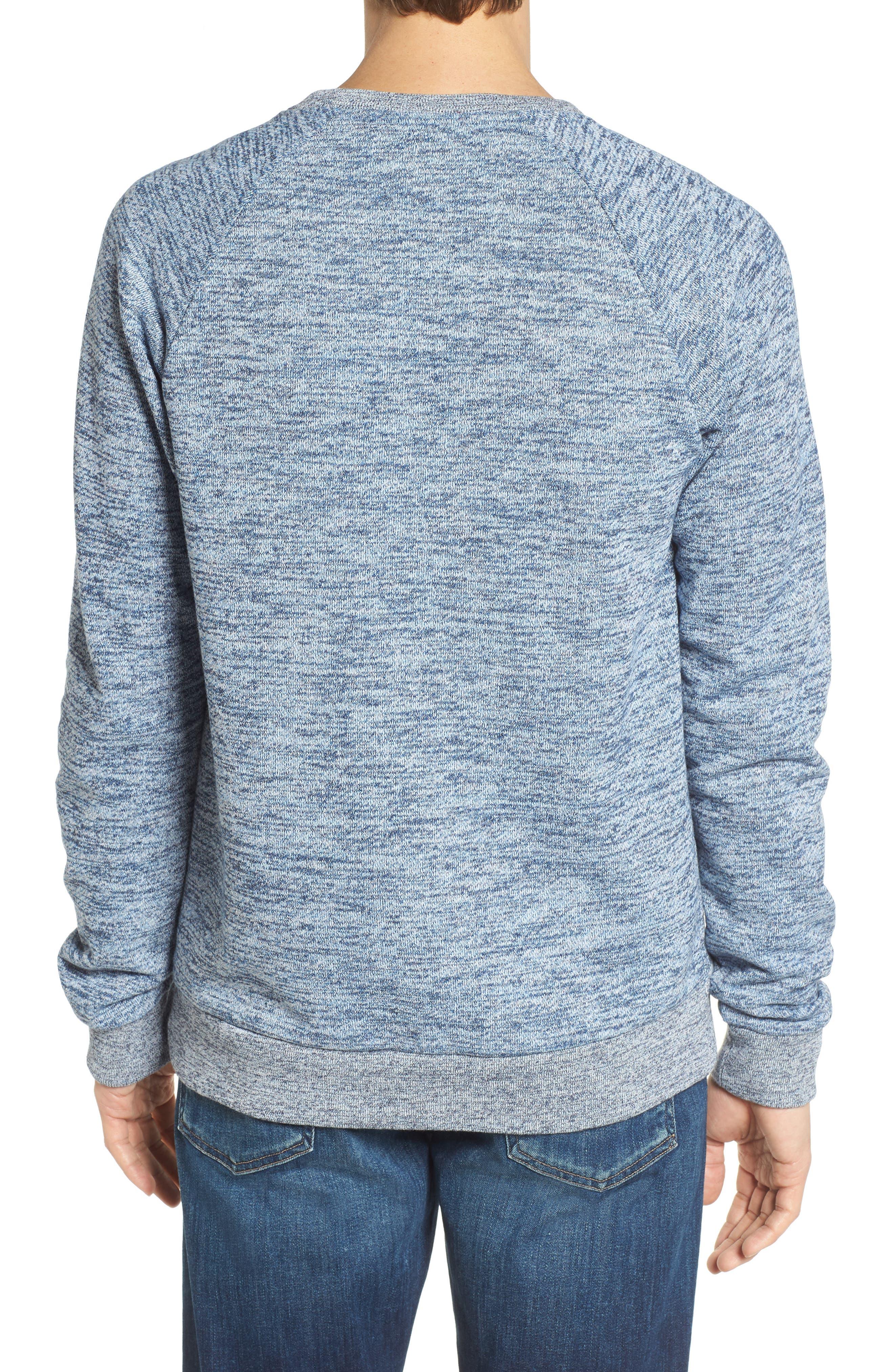 Mélange Sweatshirt,                             Alternate thumbnail 2, color,