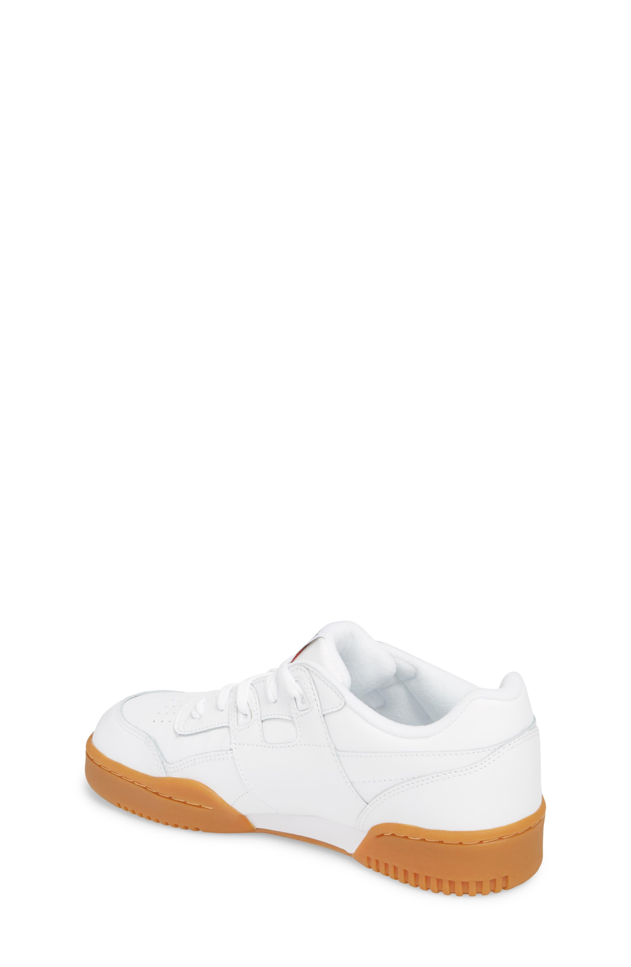 Workout Plus Sneaker,                             Alternate thumbnail 2, color,                             WHITE