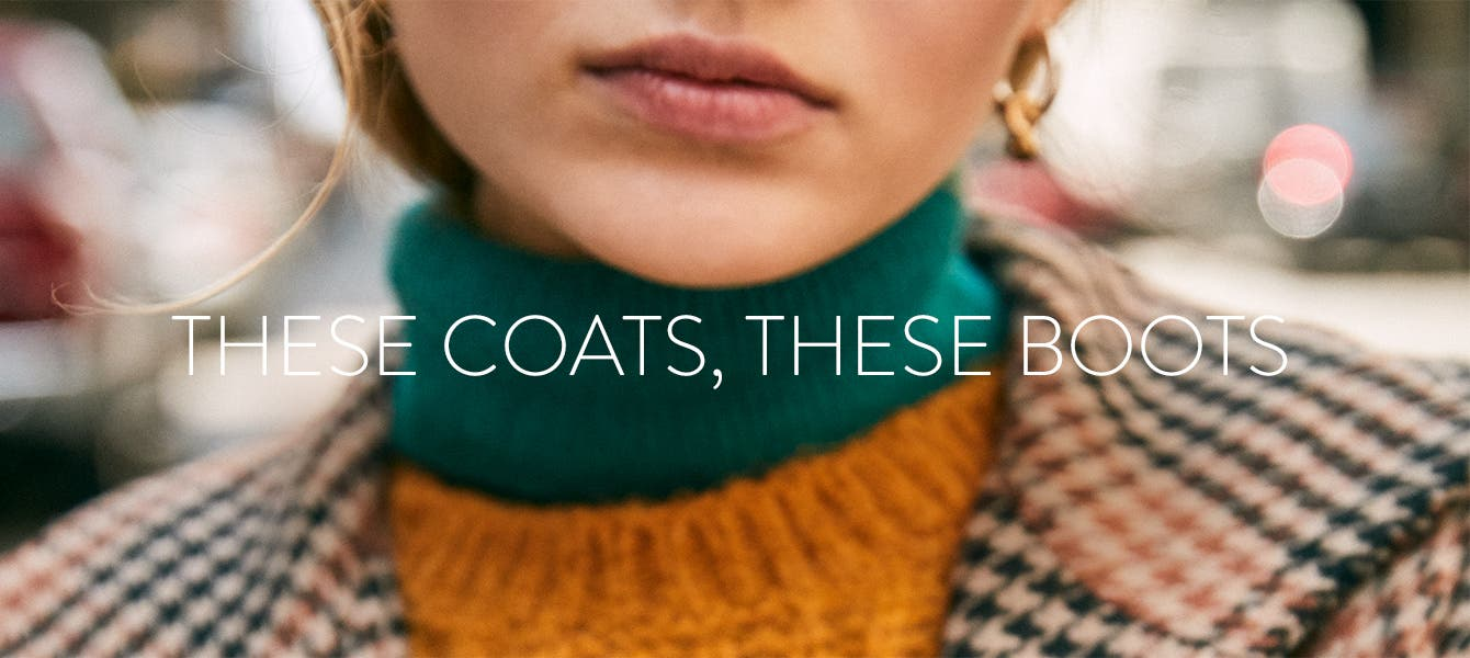 These coats, these boots: fall coat and boot edit.