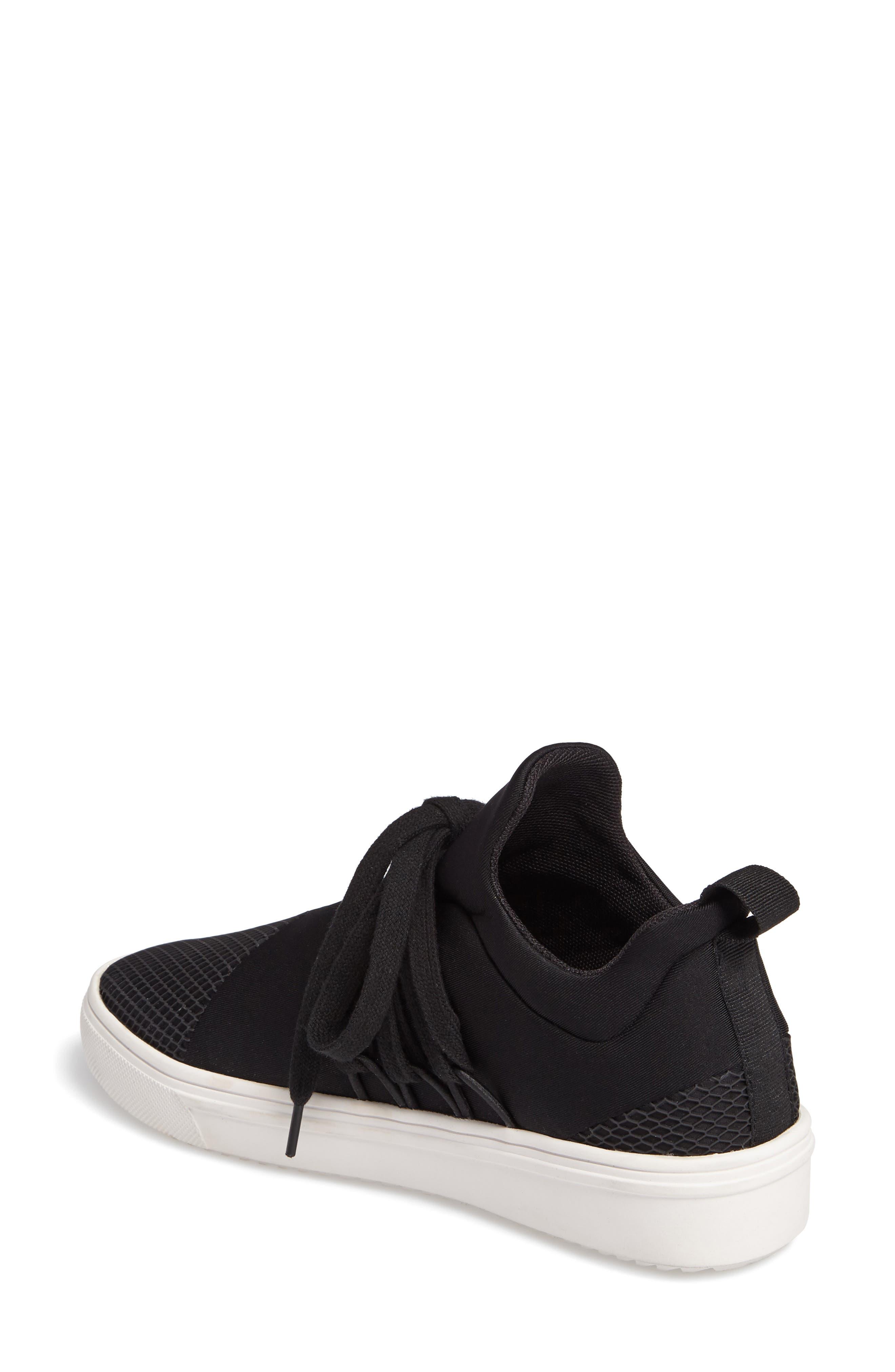 Lancer Sneaker,                             Alternate thumbnail 2, color,                             BLACK