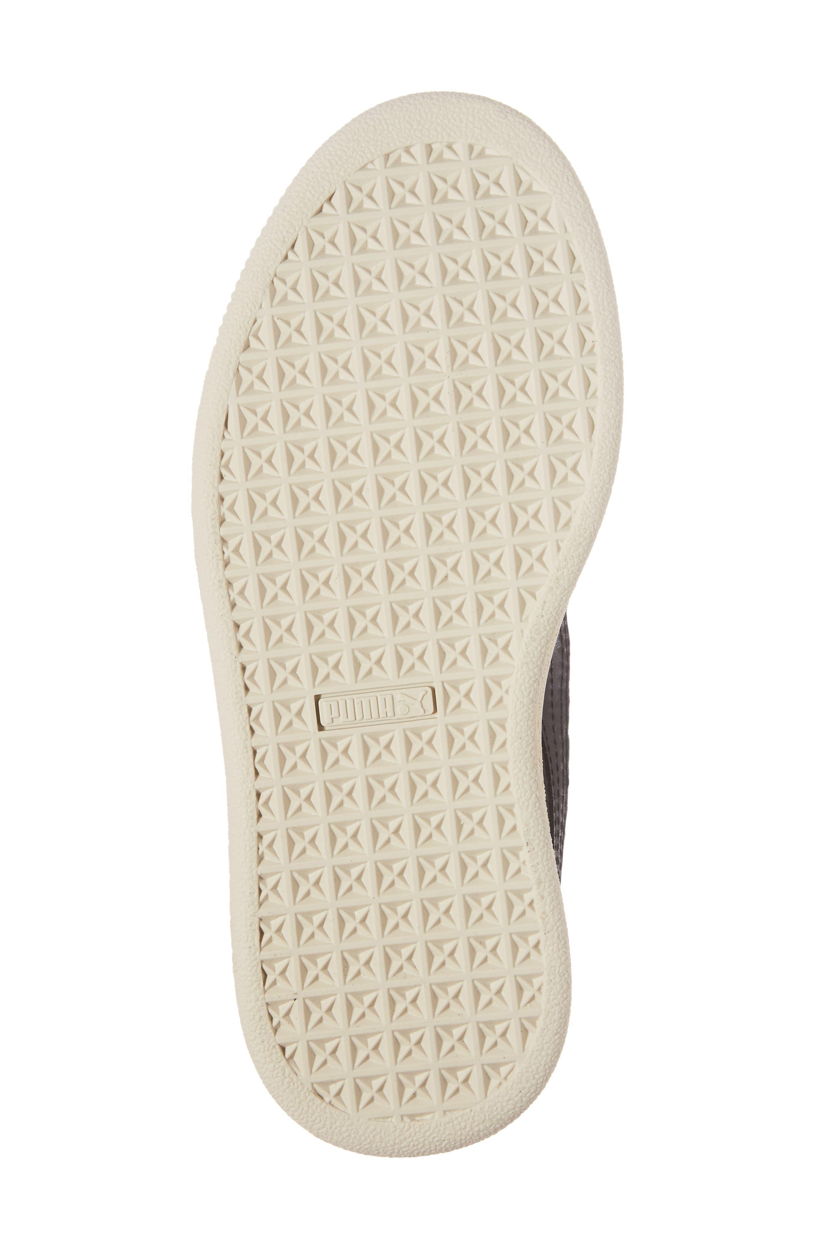 x tinycottons Basket Pompom Sneaker,                             Alternate thumbnail 6, color,                             001