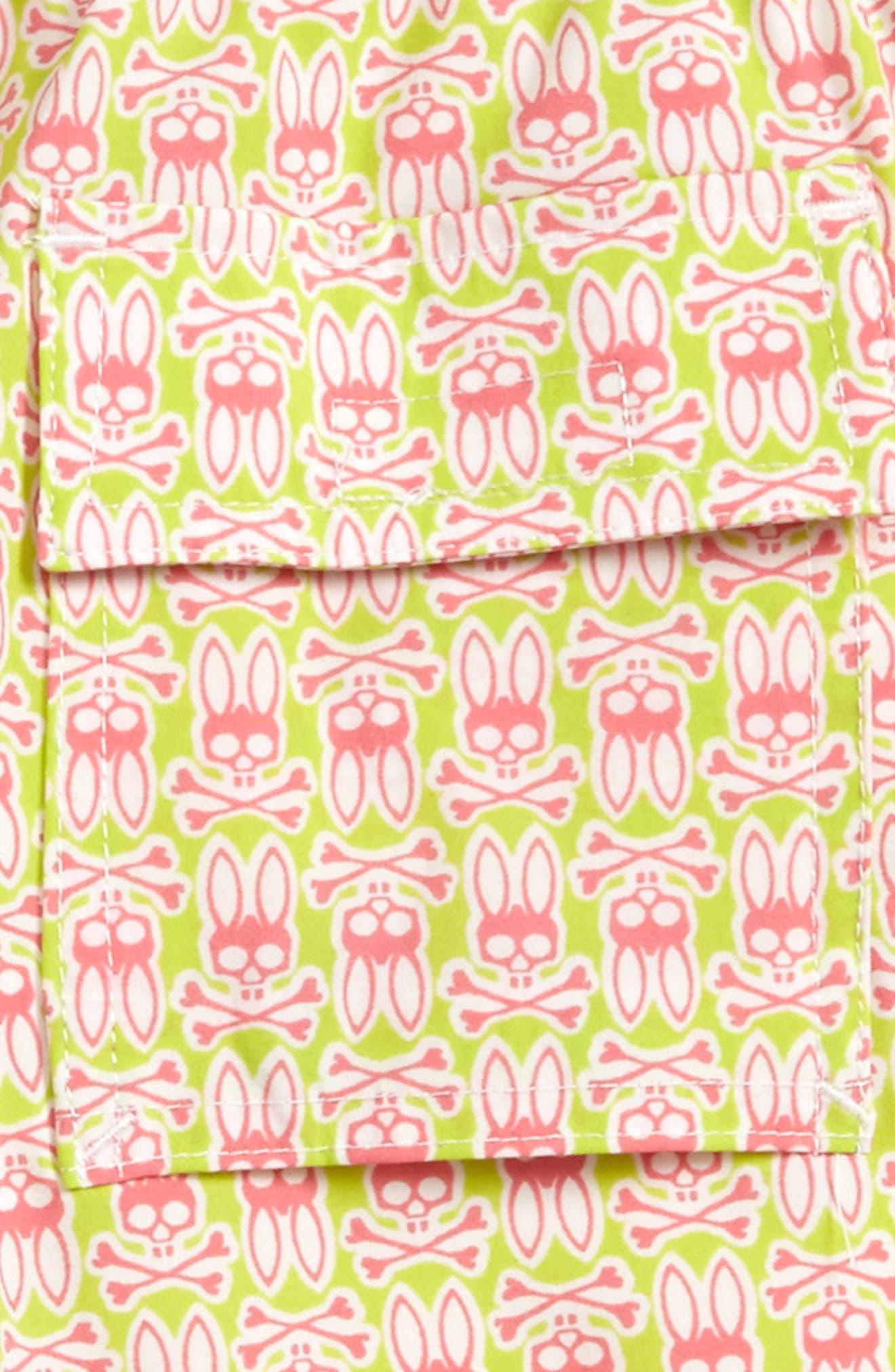 Print Swim Trunks,                             Alternate thumbnail 5, color,