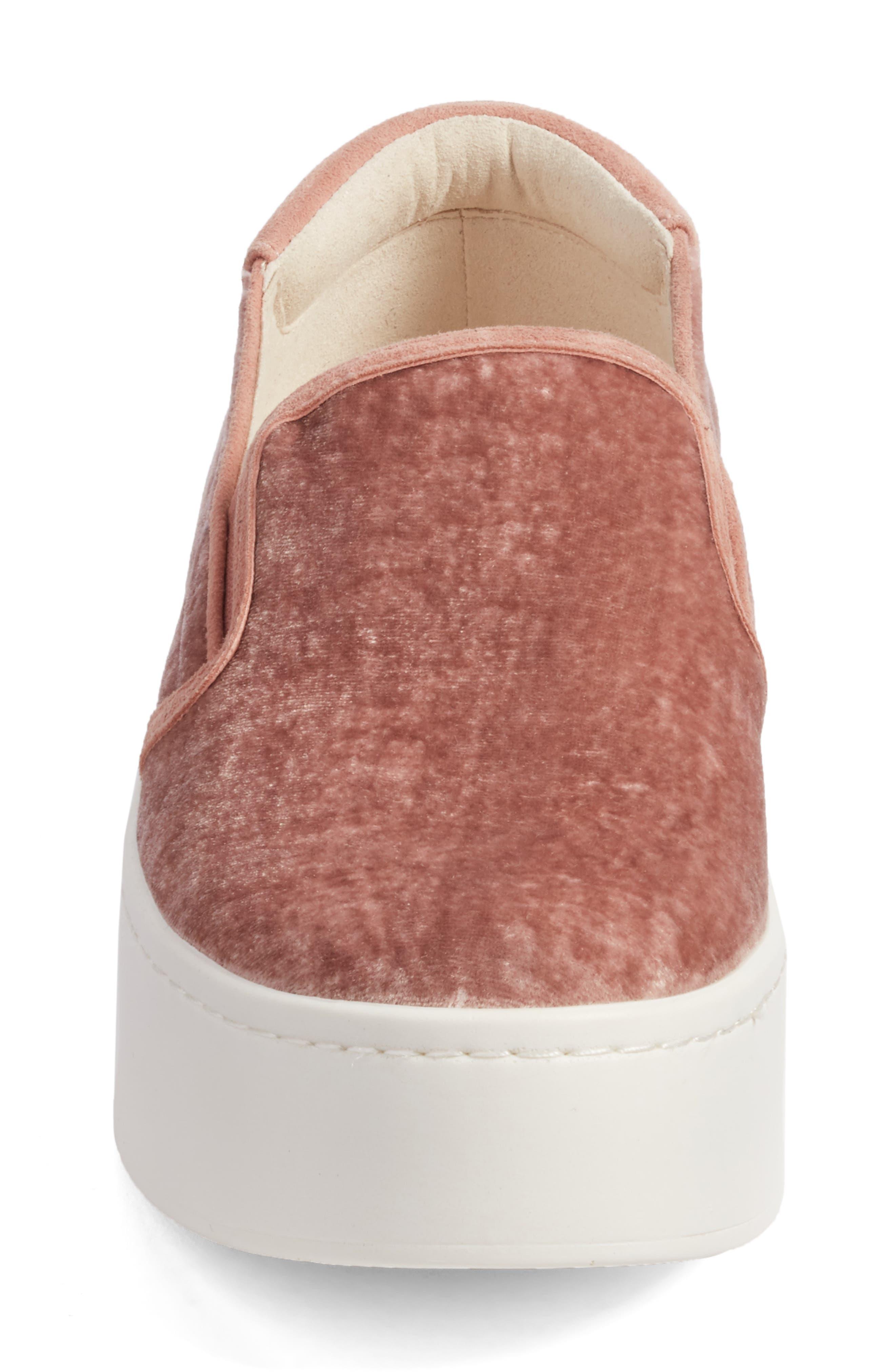 Joanie Slip-On Platform Sneaker,                             Alternate thumbnail 43, color,