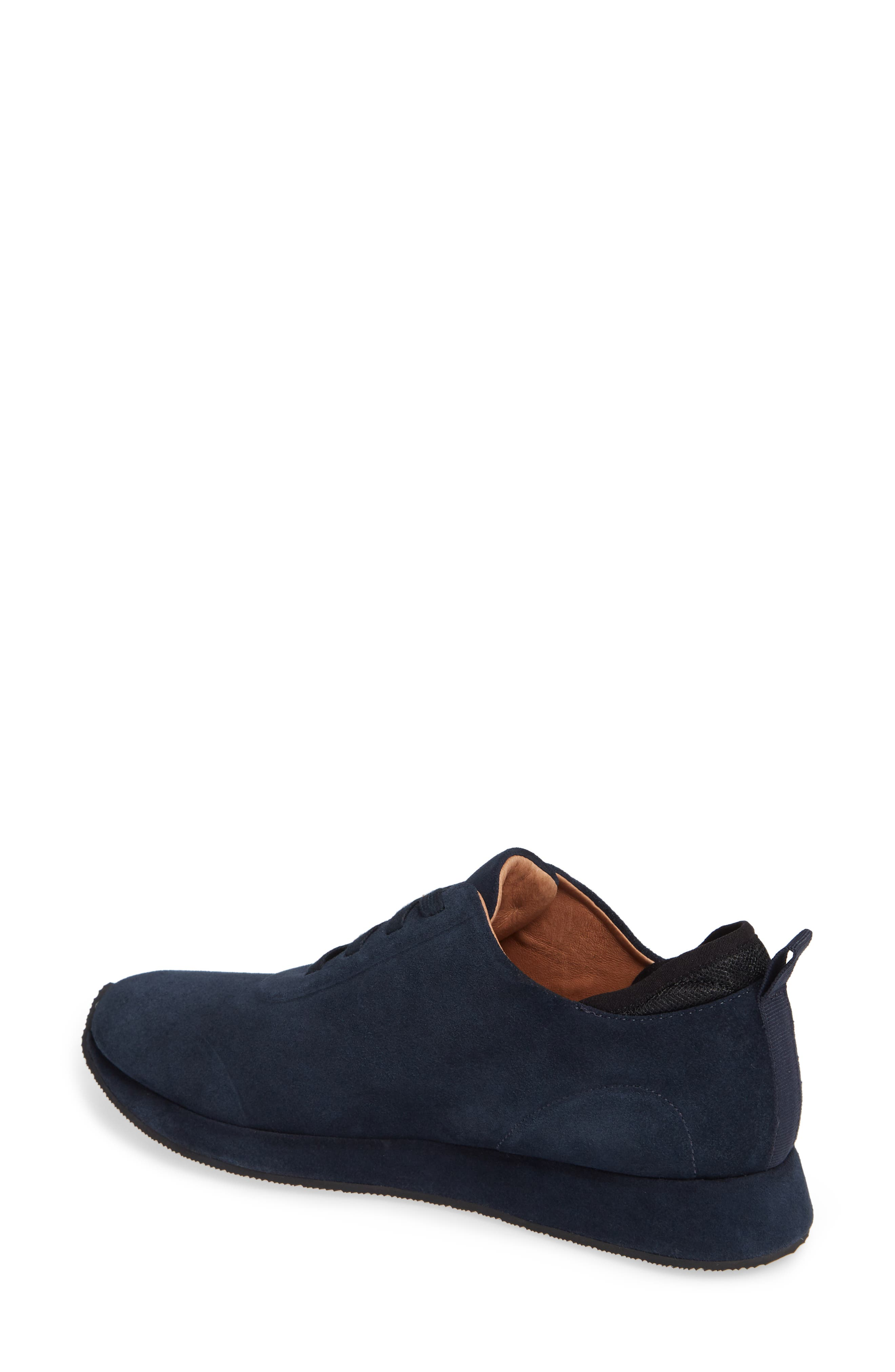 SUDINI,                             Mabel Sneaker,                             Alternate thumbnail 2, color,                             NAVY SUEDE