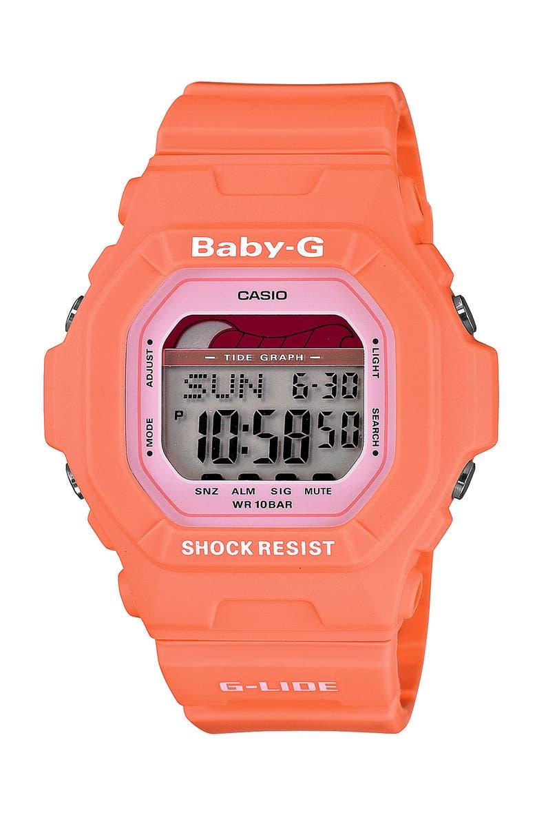 G-SHOCK BABY-G Casio  Baby-G Tide Graph  Digital Watch f0626a9d8dda