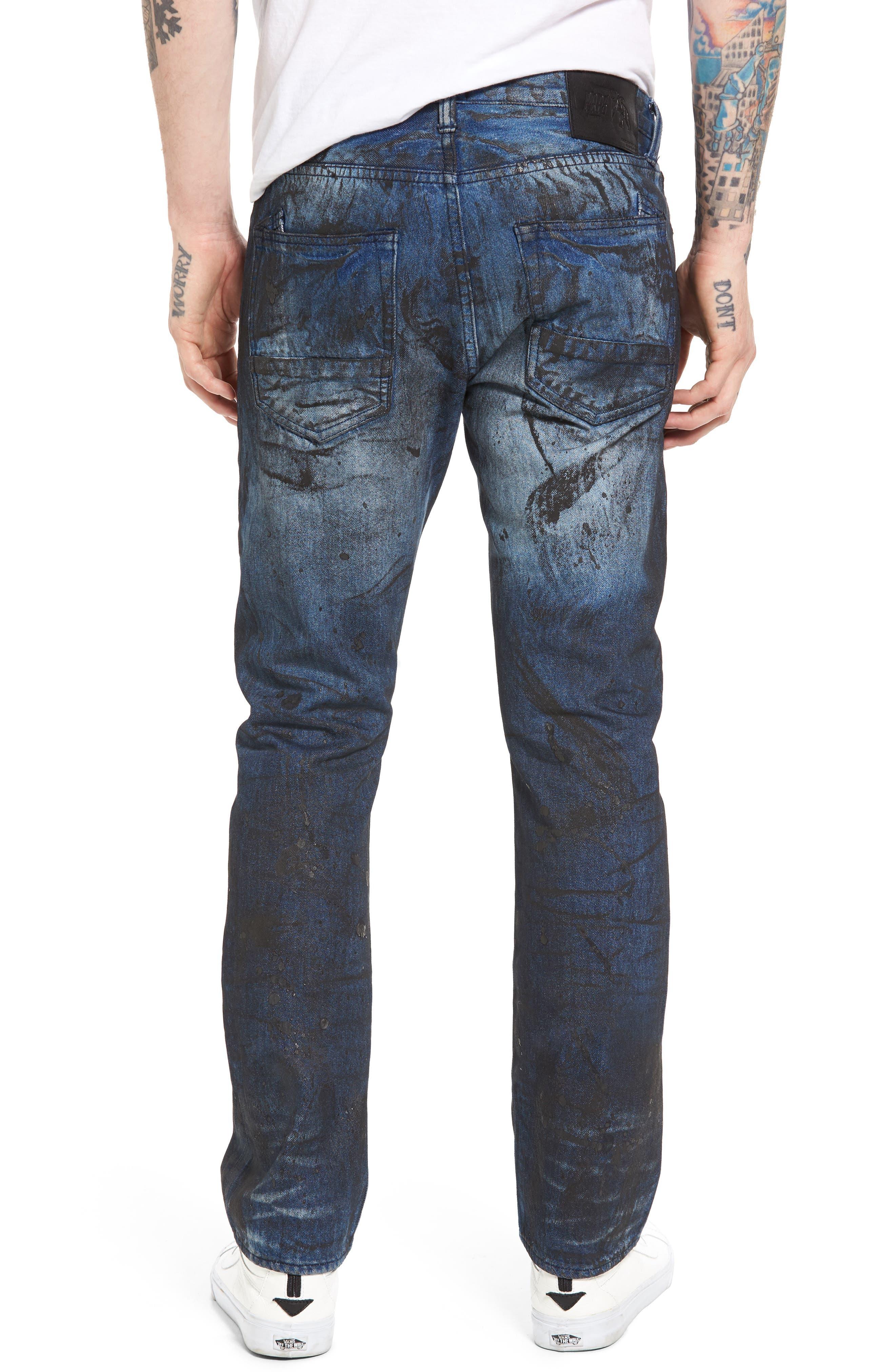 PRPS,                             Demon Slim Straight Leg Jeans,                             Alternate thumbnail 2, color,                             400