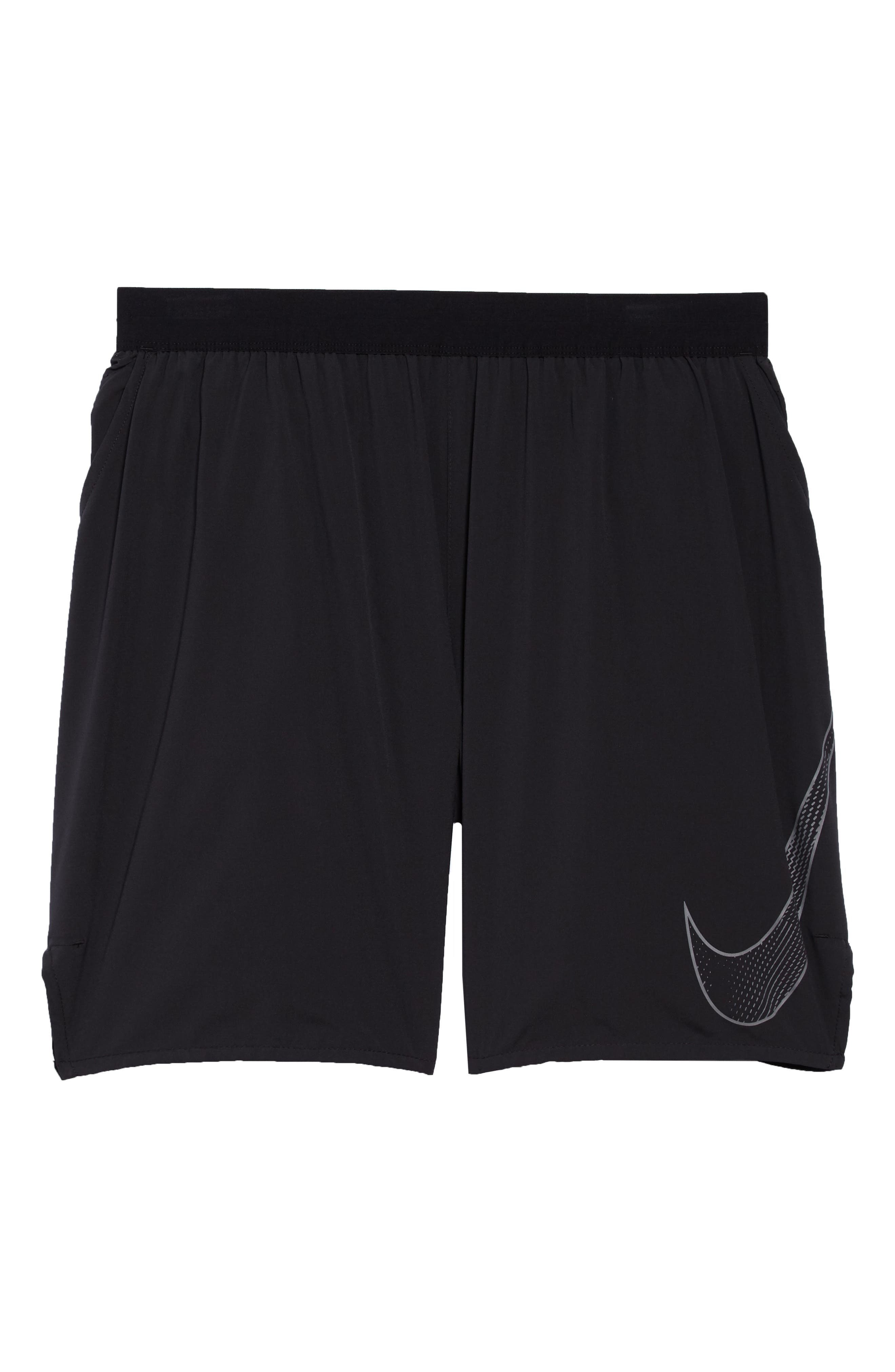 Flex Flash Distance Shorts,                             Alternate thumbnail 6, color,                             010
