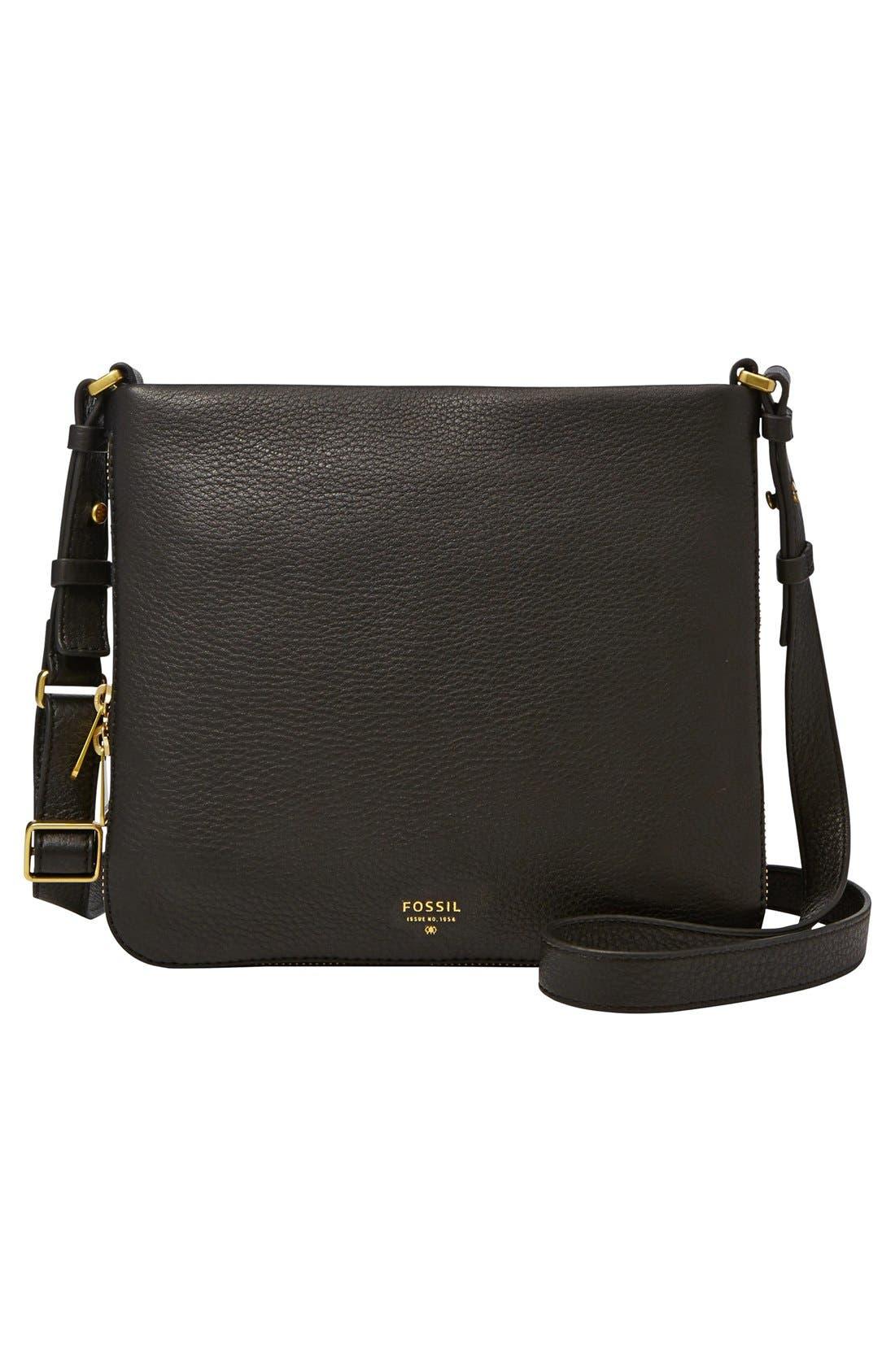 'Preston' Crossbody Bag, Main, color, 001
