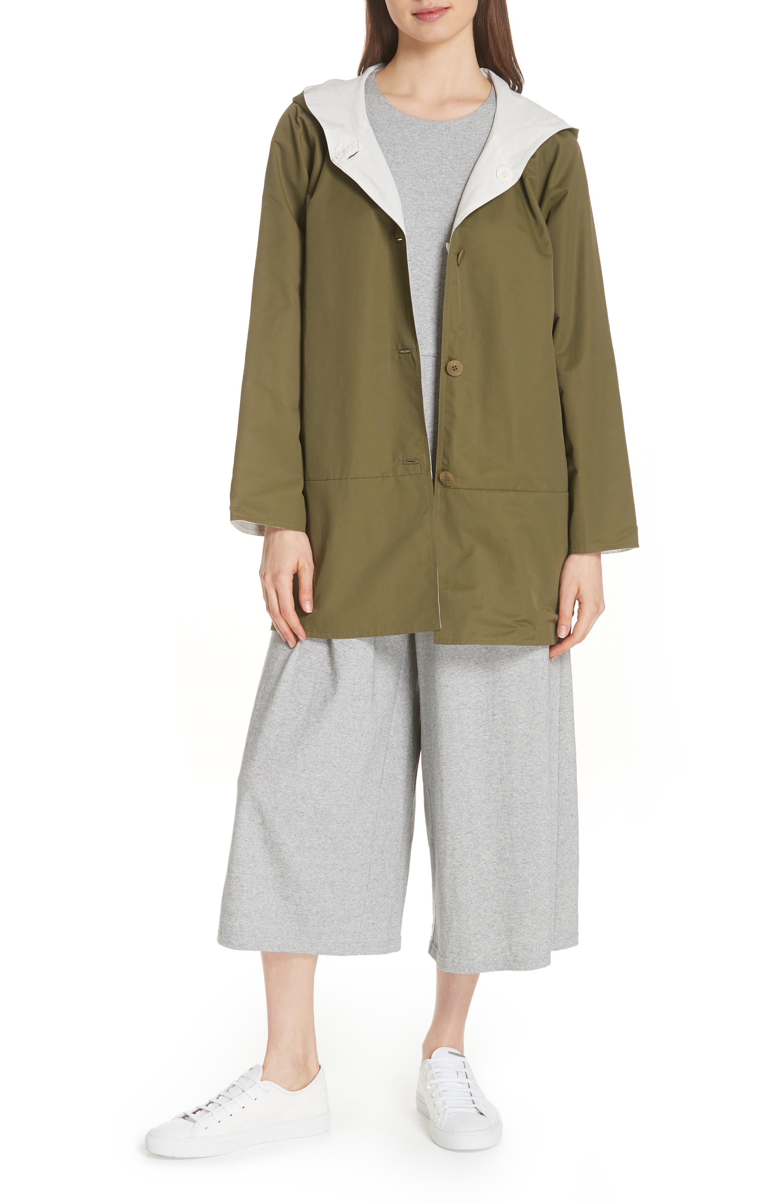 Crop Cotton Knit Jumpsuit,                             Alternate thumbnail 8, color,                             087