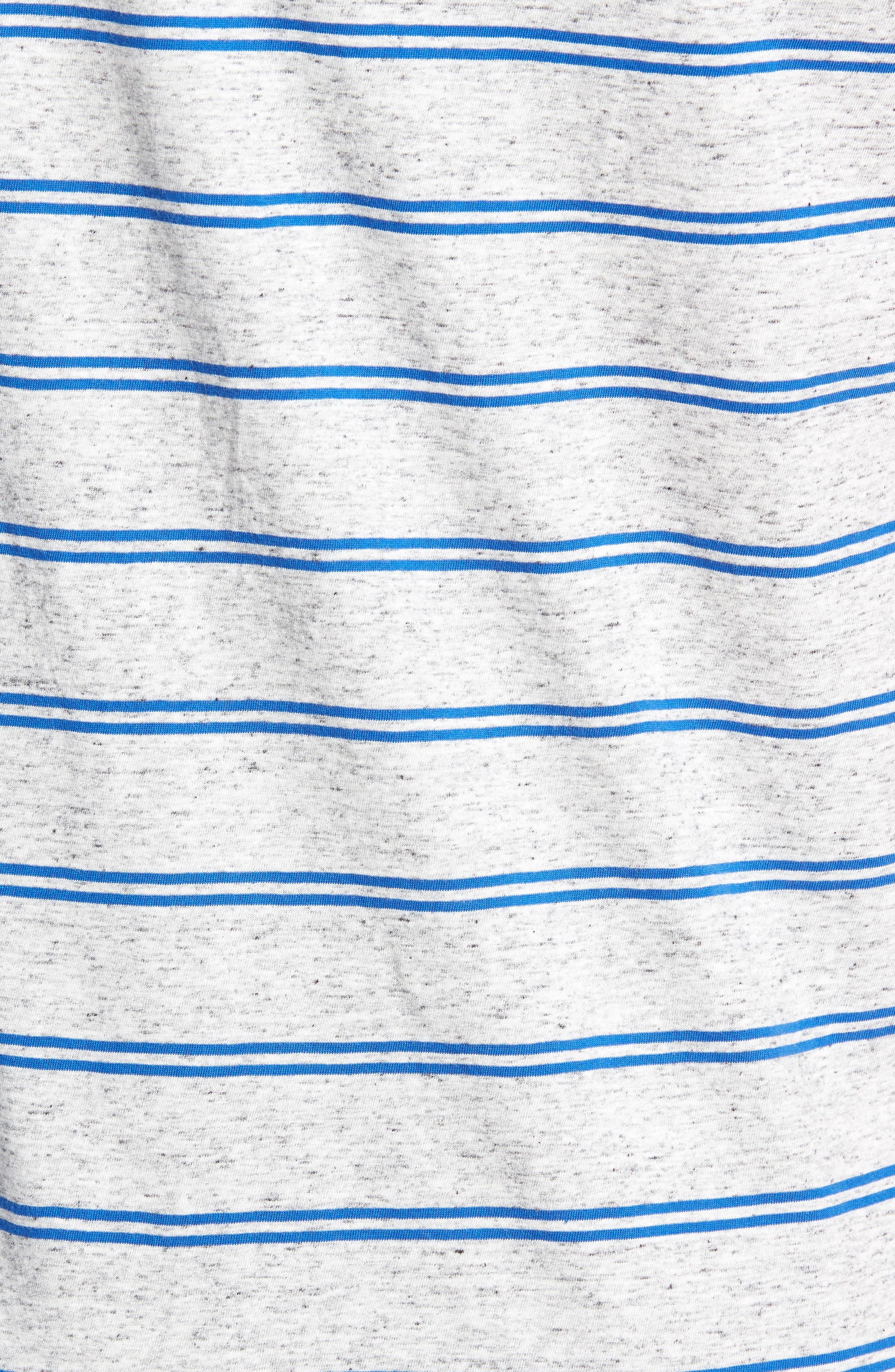 Flintlock T-Shirt,                             Alternate thumbnail 5, color,                             STORM MARLE/ COBALT