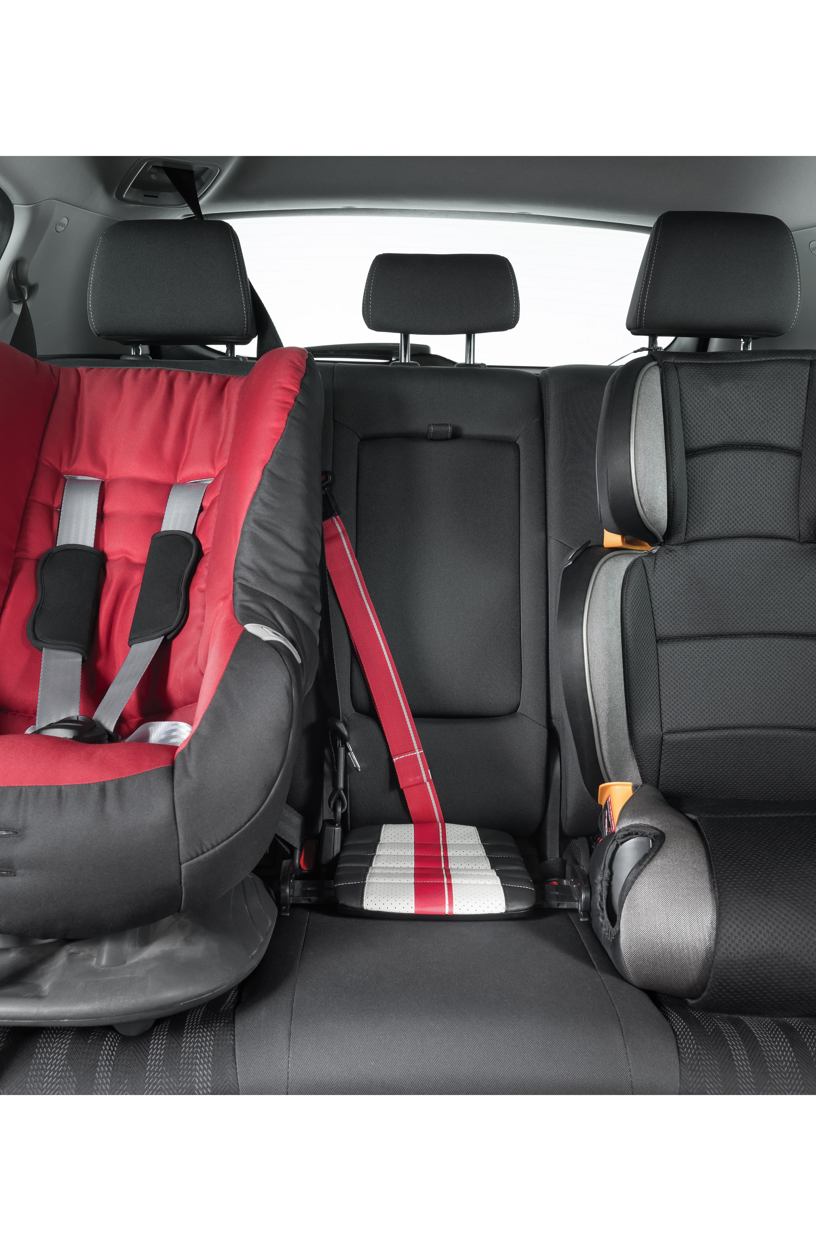 Sport Grab-and-Go Booster Seat,                             Alternate thumbnail 9, color,                             BLACK/ GREY/ RED