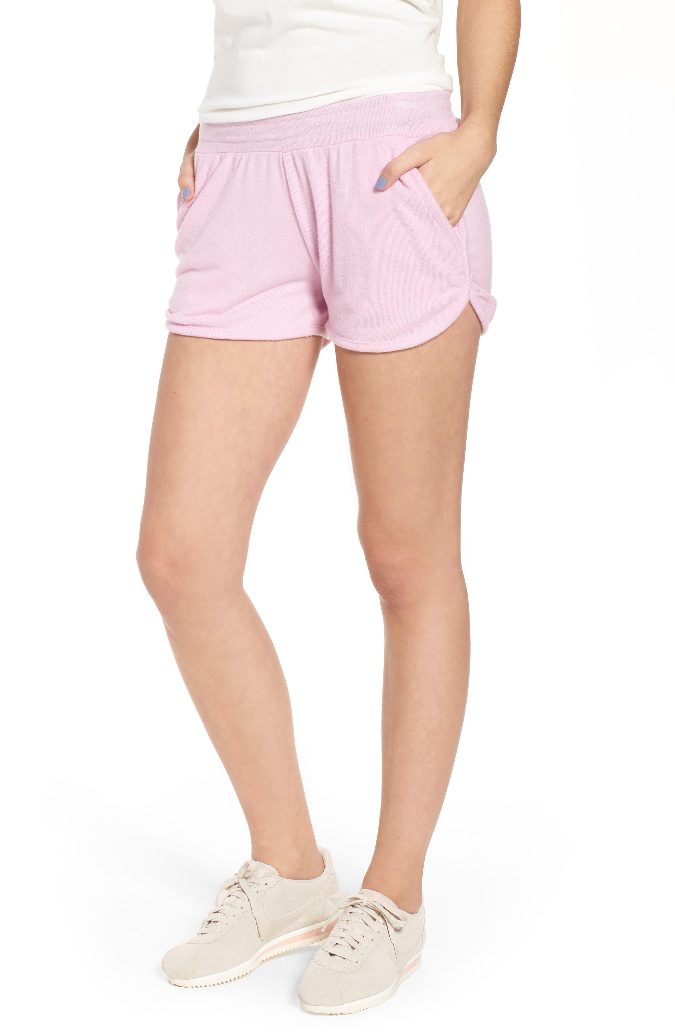 Costa Fleece Dolphin Shorts,                         Main,                         color, 500