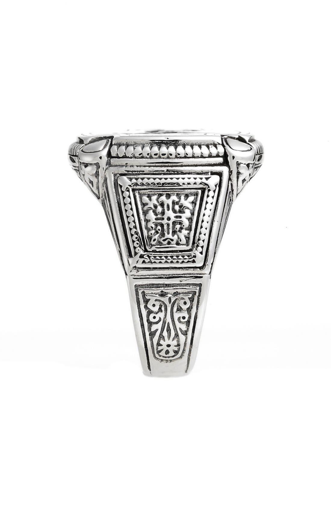 Silver Classics Pegasus Ring,                             Alternate thumbnail 2, color,                             SILVER