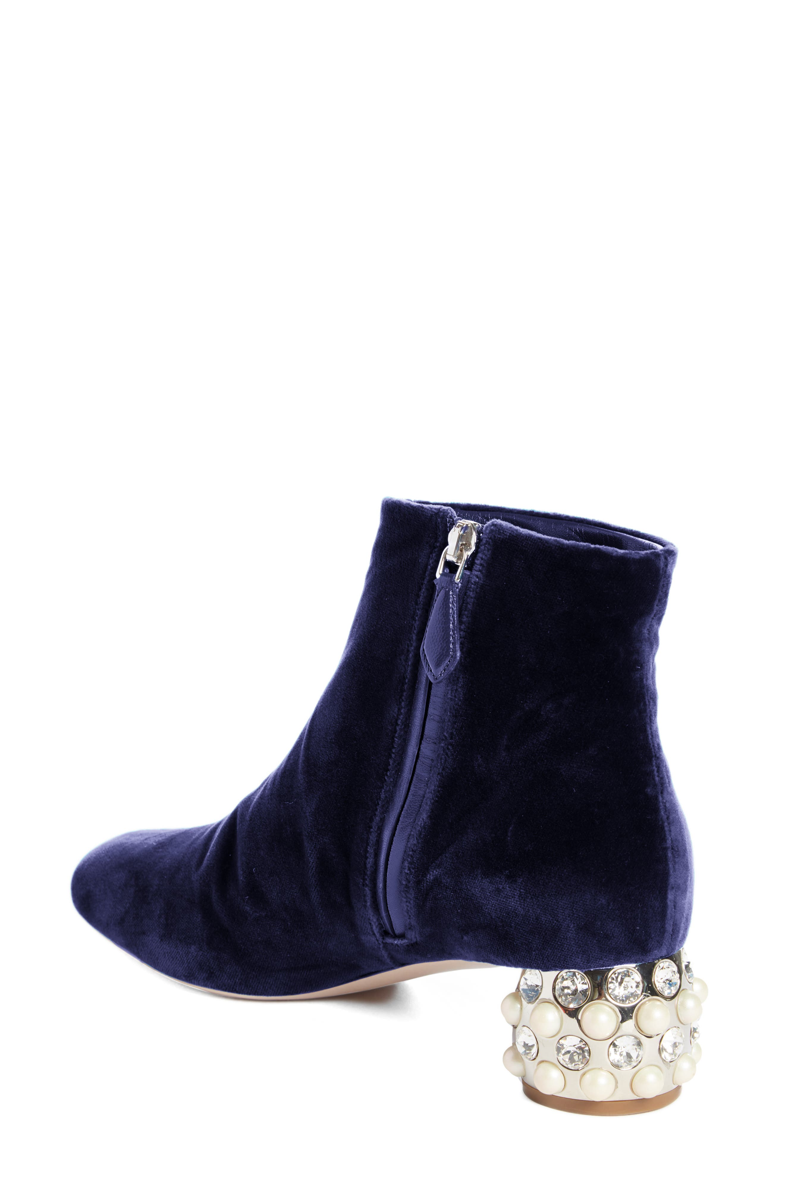 Embellished Block Heel Boot,                             Alternate thumbnail 2, color,                             400