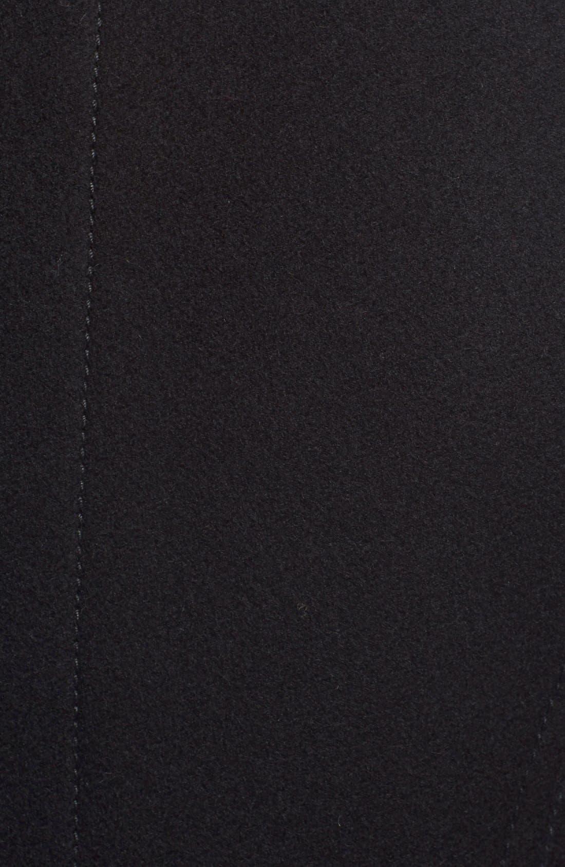 BURBERRY BRIT,                             BuberryBrit 'Milbury' Wool Blend Jacket,                             Alternate thumbnail 2, color,                             001