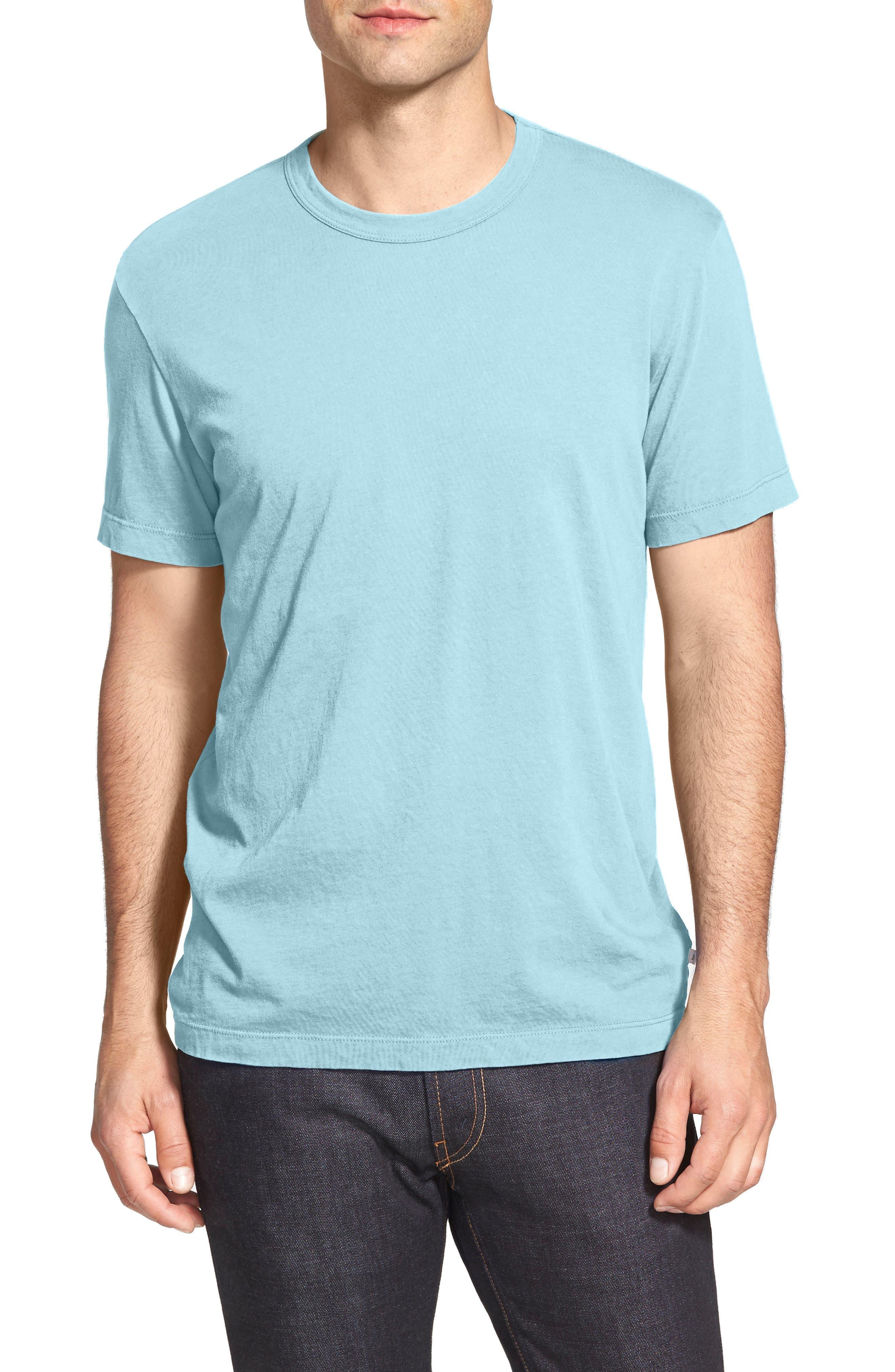 Crewneck Jersey T-Shirt,                             Alternate thumbnail 189, color,