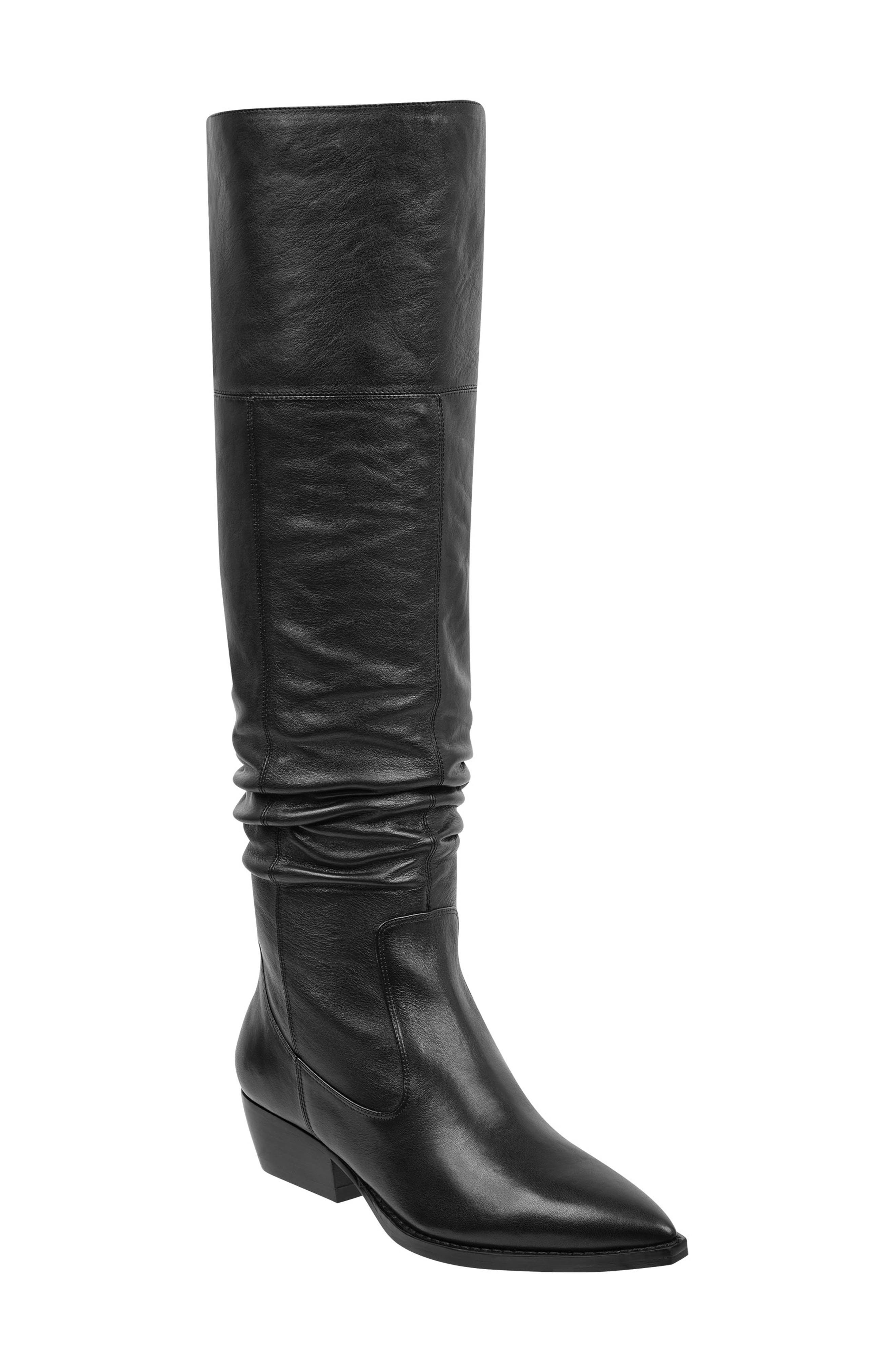 Ocea Over the Knee Boot,                             Main thumbnail 1, color,                             001