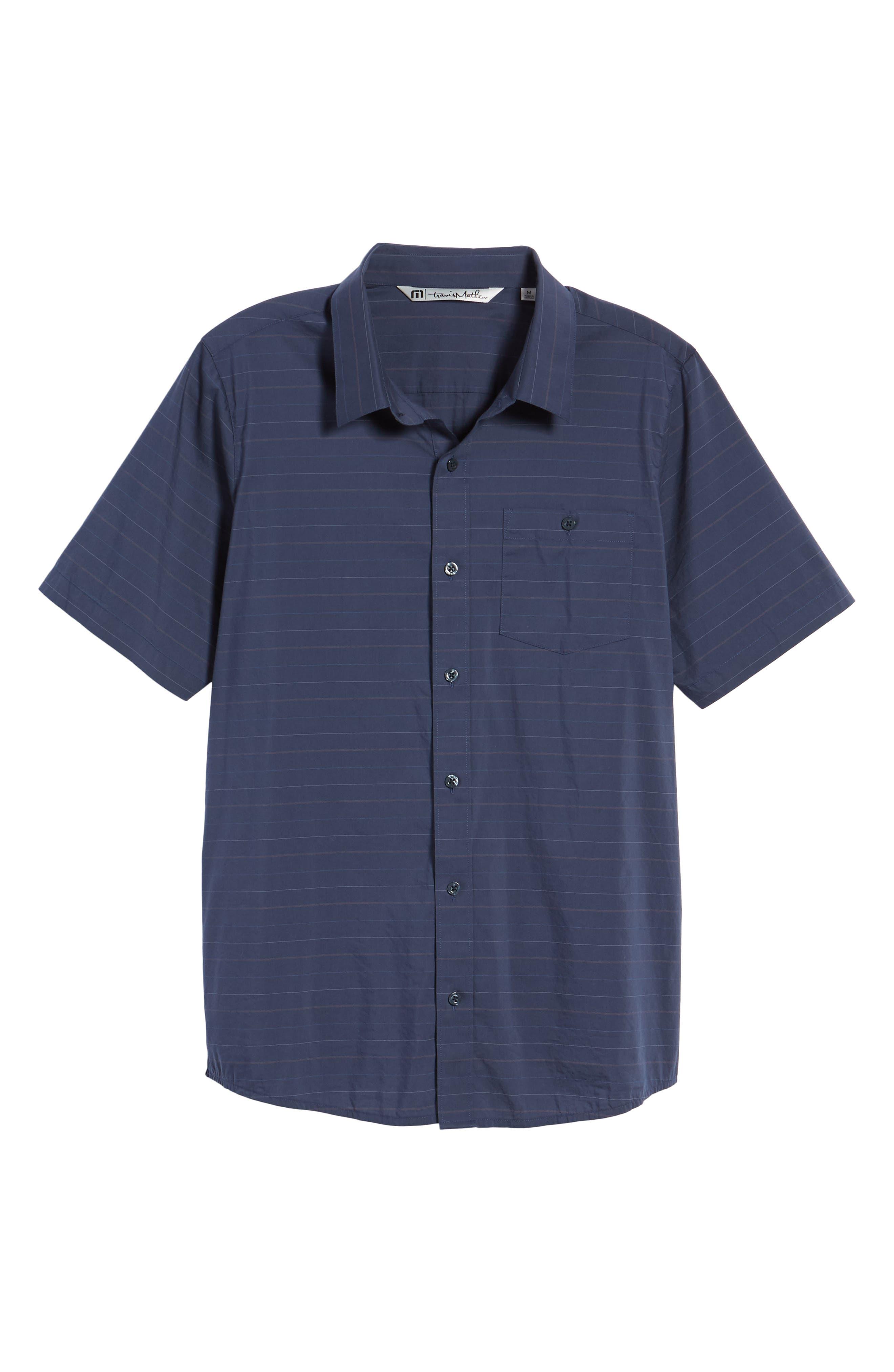 Linear Slim Fit Sport Shirt,                             Alternate thumbnail 6, color,                             400
