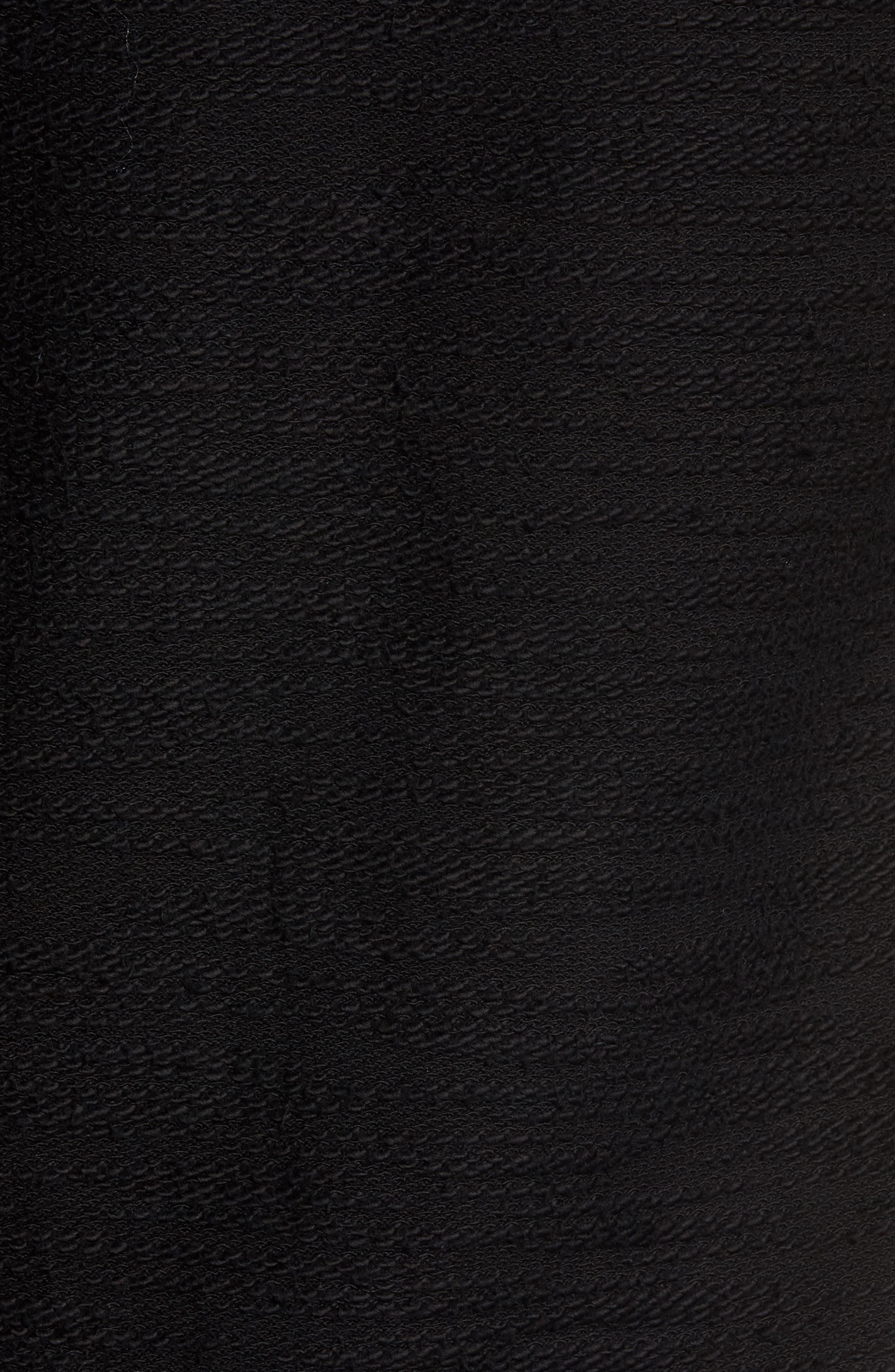 Frey Slubbed Pocket Sweatshirt,                             Alternate thumbnail 5, color,                             001