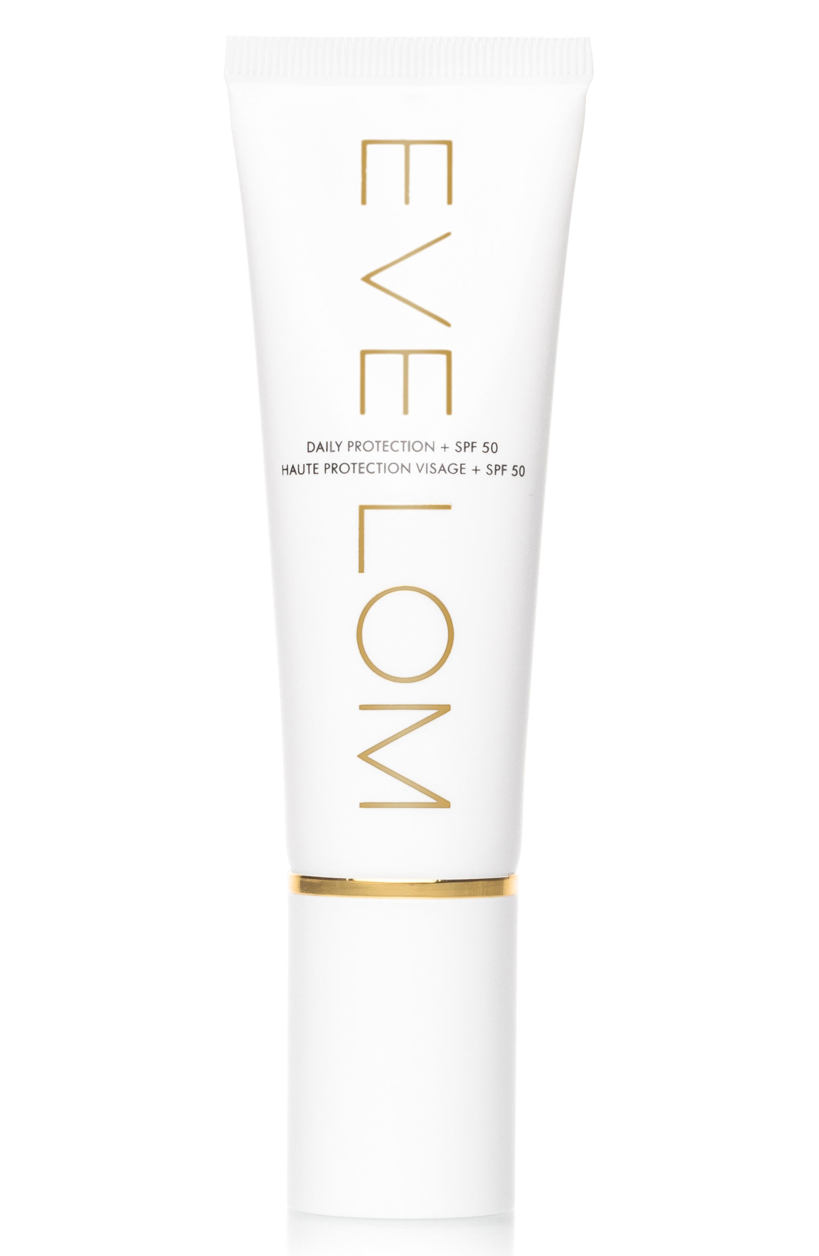 SPACE.NK.apothecary EVE LOM Daily Protection Broad Spectrum SPF 50 Sunscreen,                             Alternate thumbnail 4, color,                             NO COLOR
