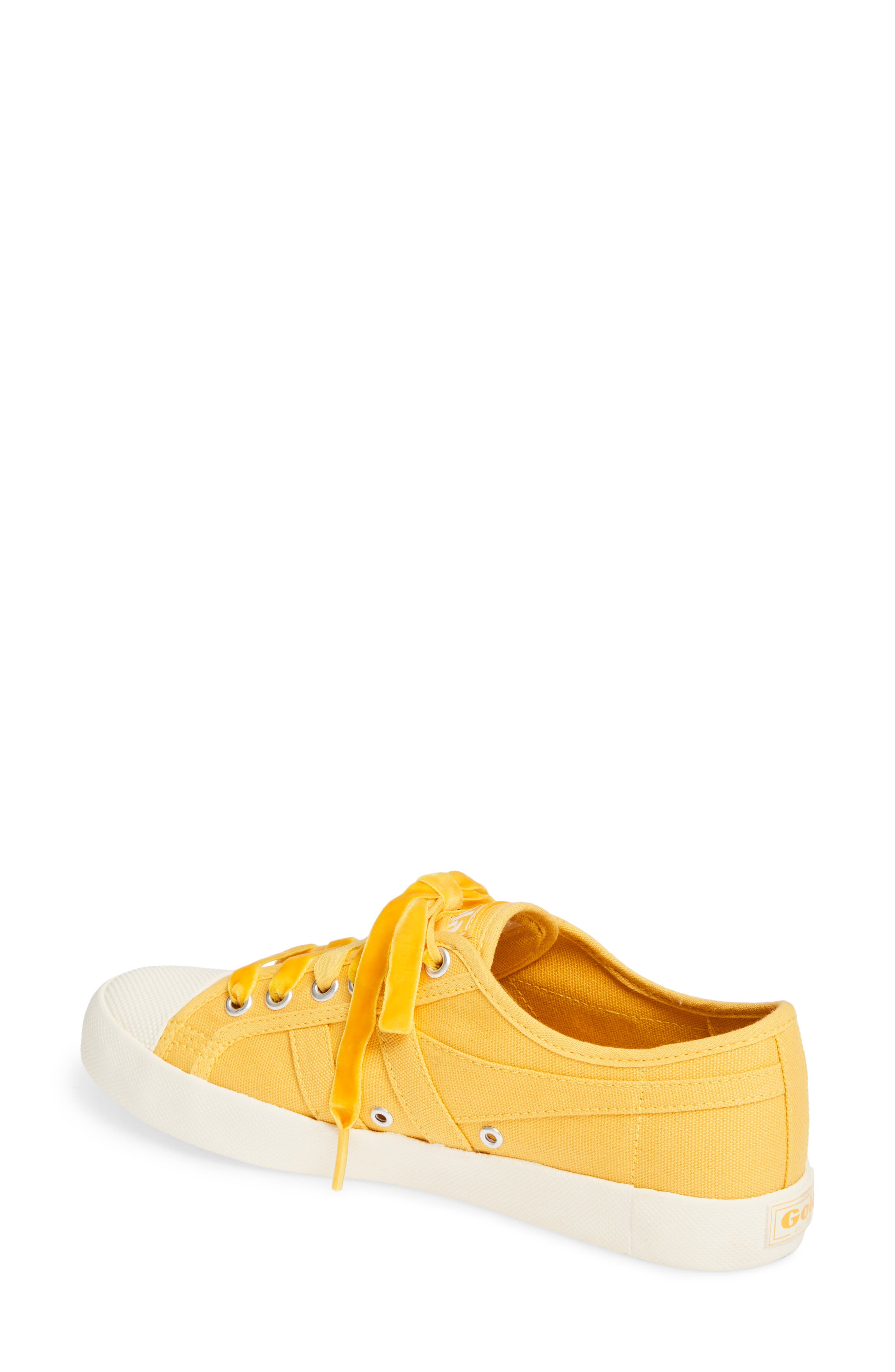 Coaster Sneaker,                             Alternate thumbnail 2, color,                             SUN/ OFF WHITE