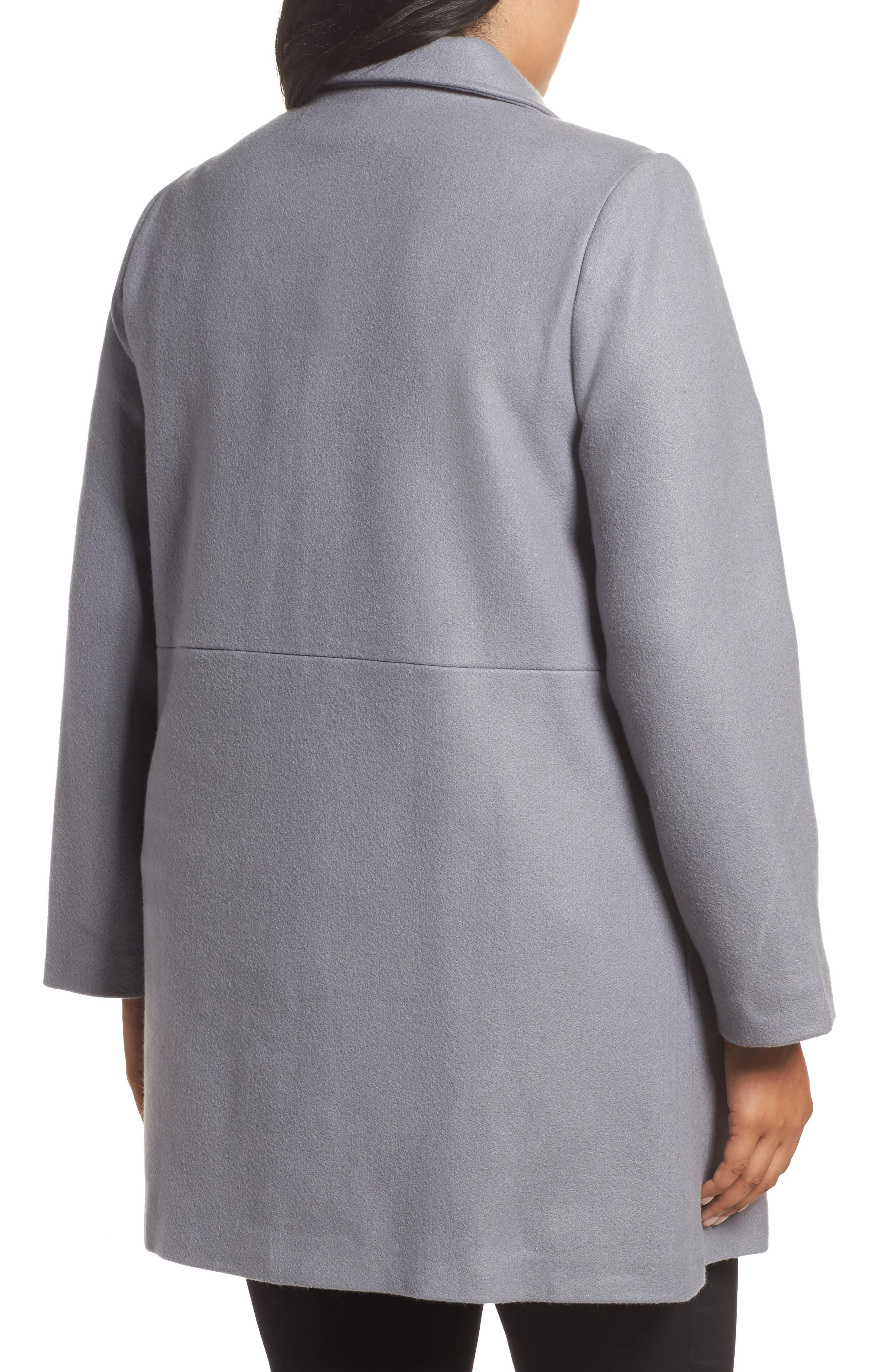 Frill Car Coat,                             Alternate thumbnail 2, color,                             400