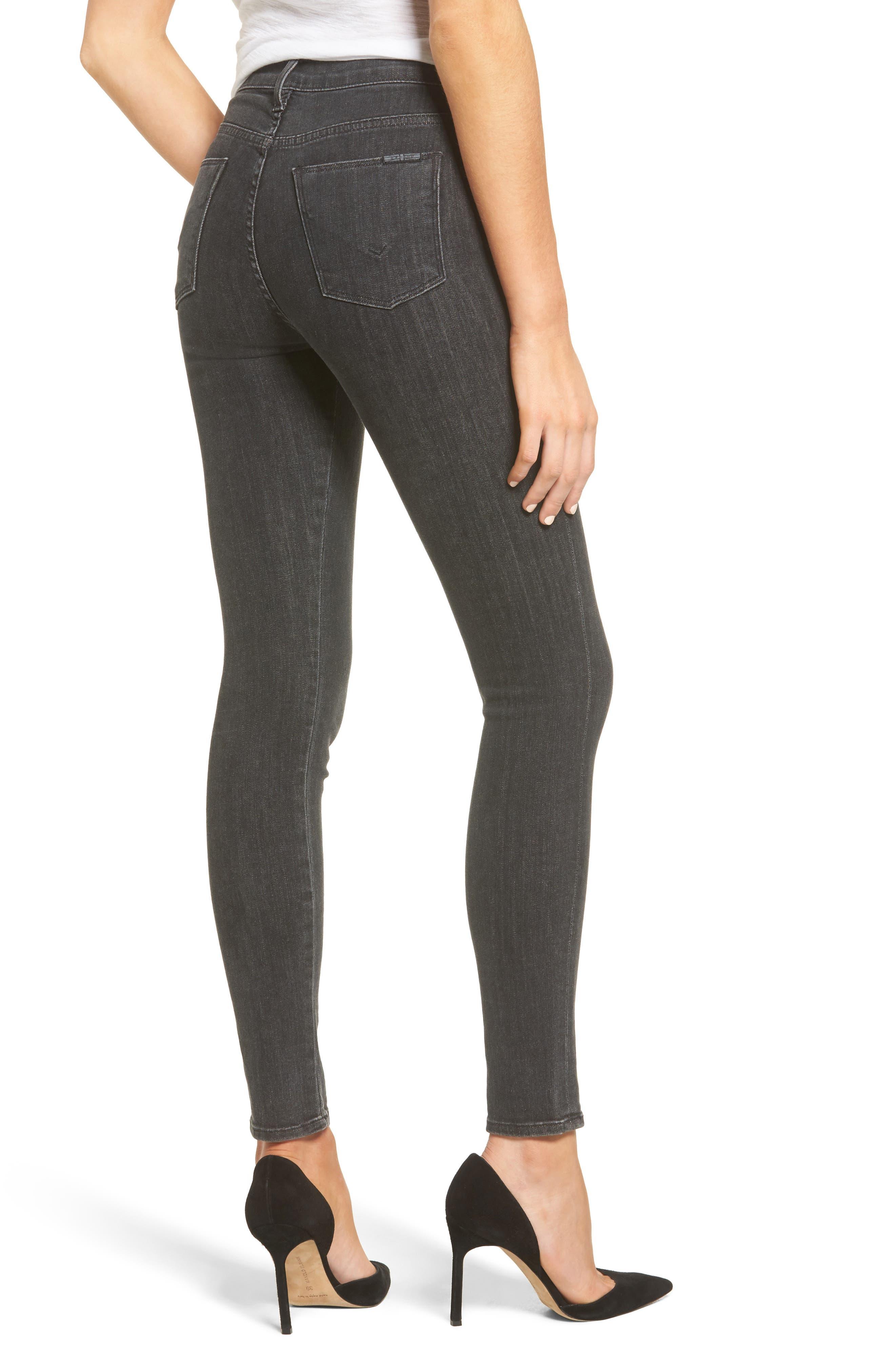 Bullocks High Waist Lace-Up Skinny Jeans,                             Alternate thumbnail 2, color,
