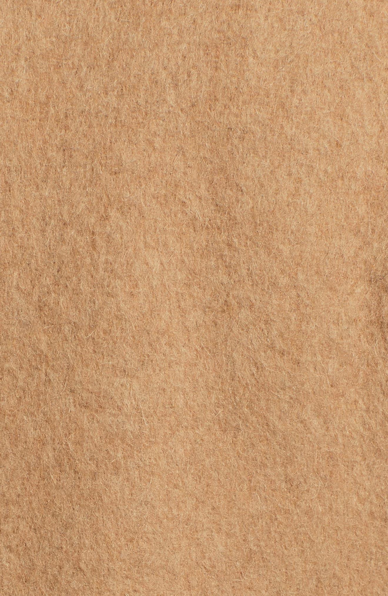 Wool Blend Long Military Coat,                             Alternate thumbnail 26, color,