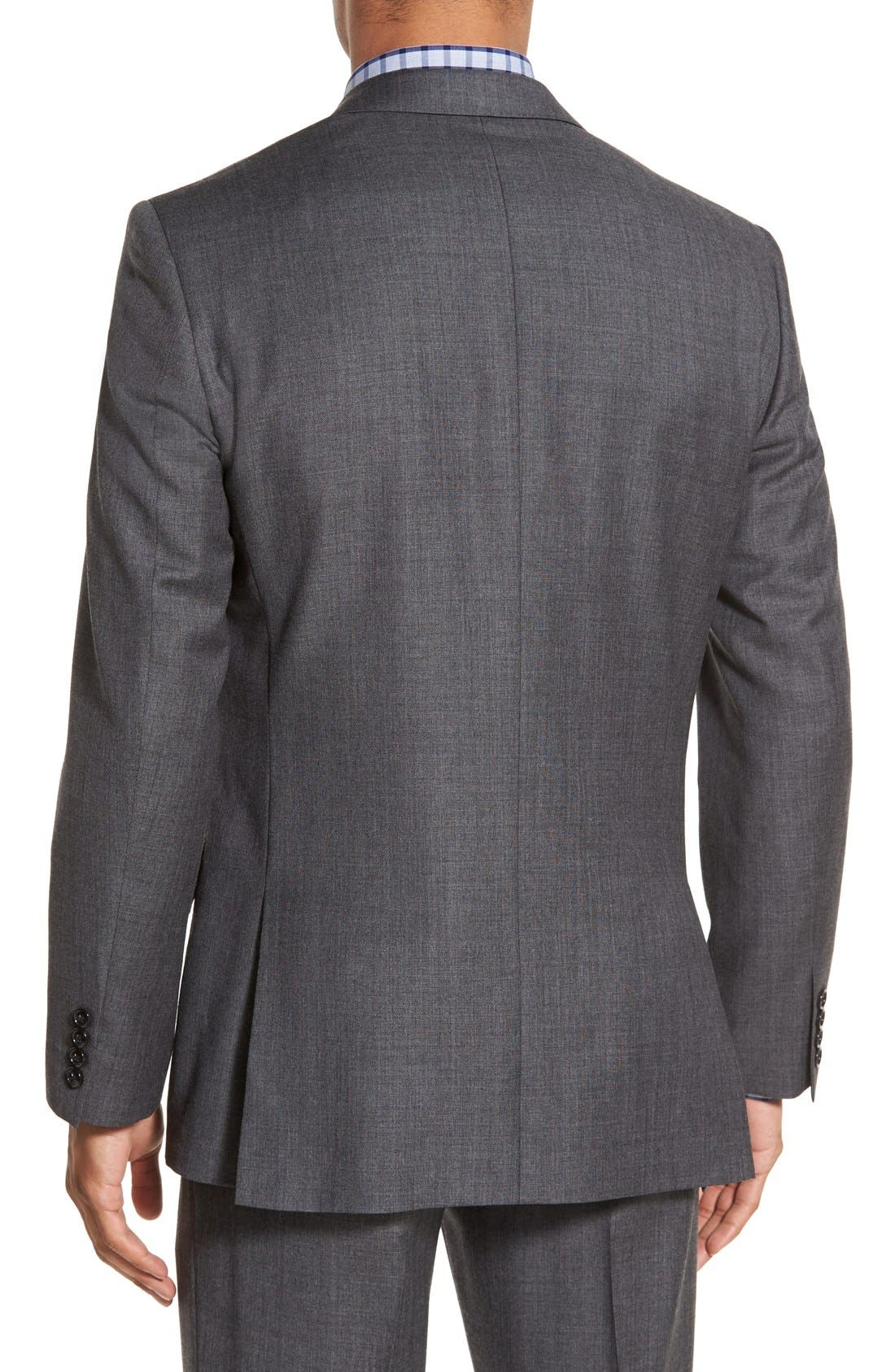 Ludlow Trim Fit Solid Wool Sport Coat,                             Alternate thumbnail 5, color,                             020