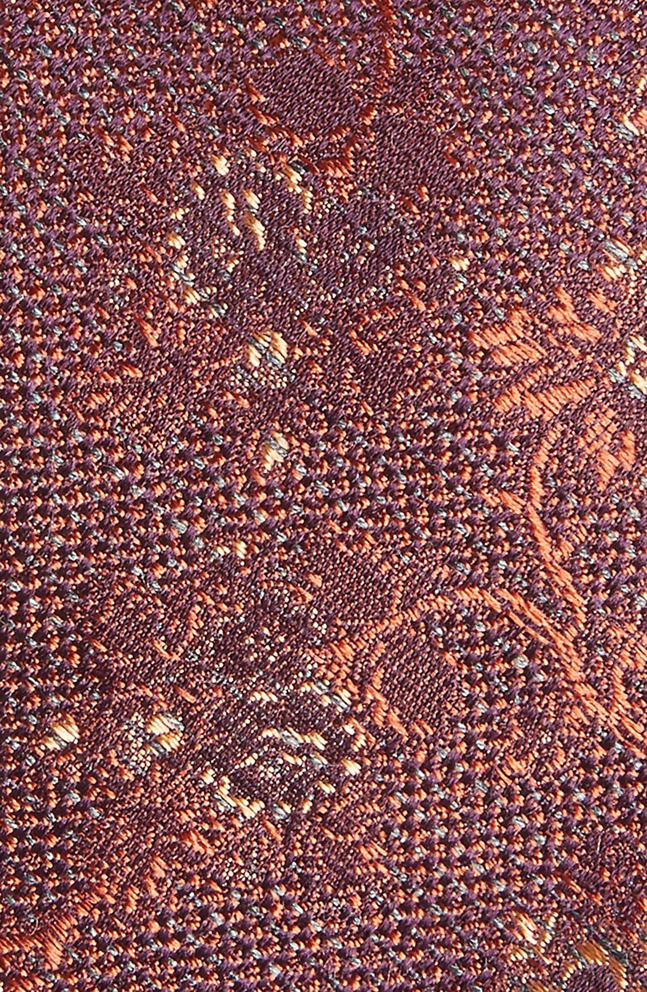 Jacquard Silk Blend Skinny Tie,                             Alternate thumbnail 2, color,                             220