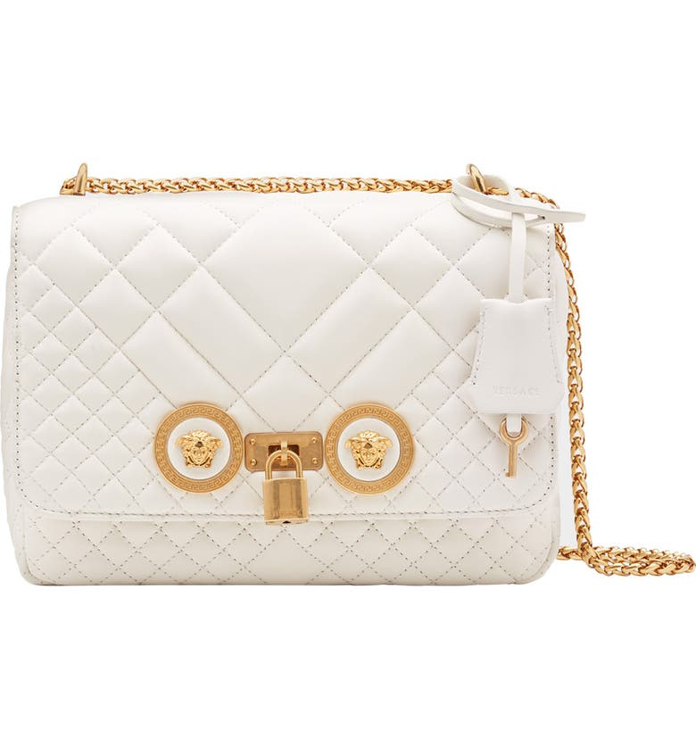 VERSACE FIRST LINE Versace Icon Medium Quilted Leather Shoulder Bag 59a76ebd113fd