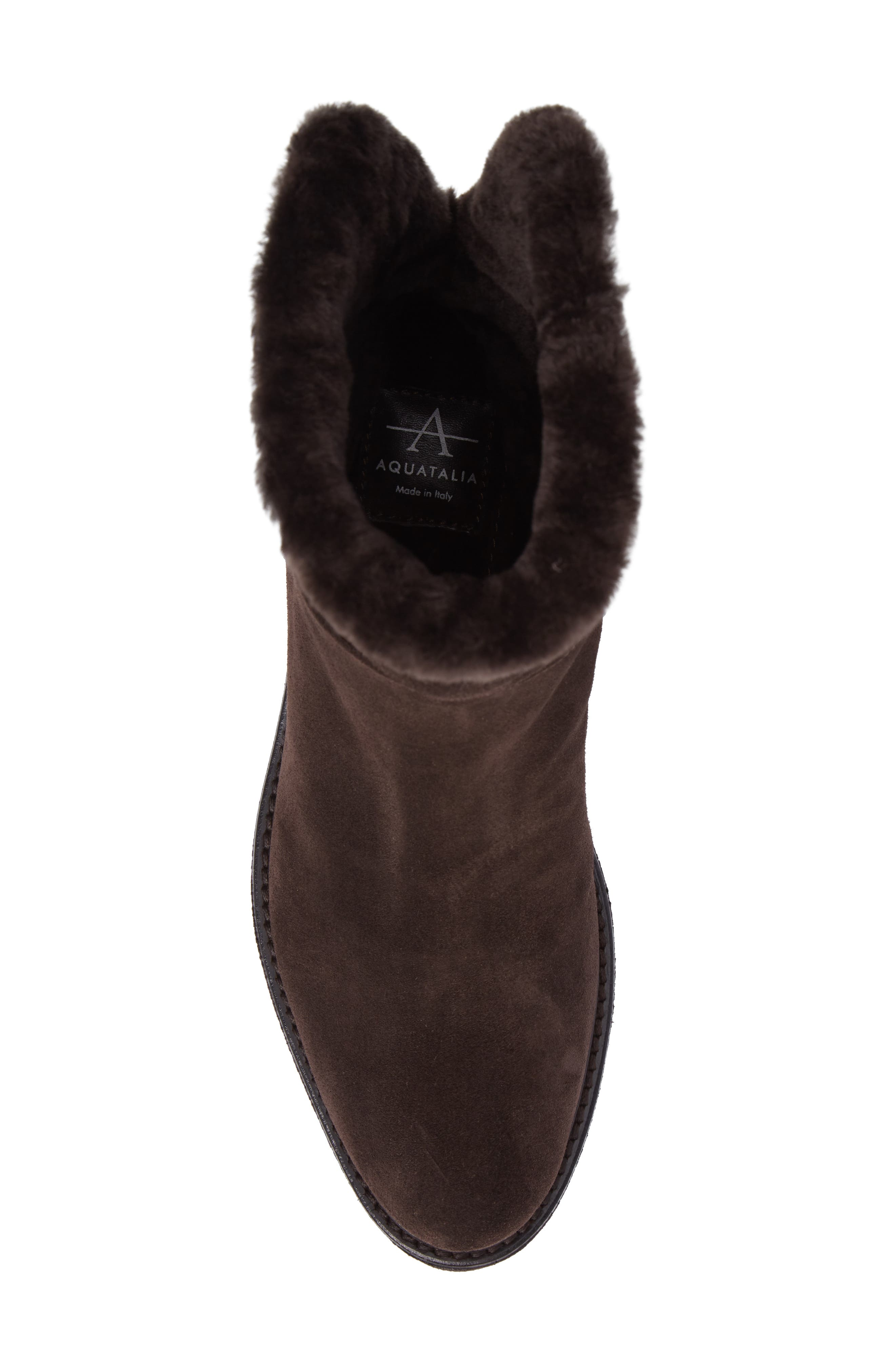 Kimberly Weatherproof Genuine Shearling Bootie,                             Alternate thumbnail 20, color,