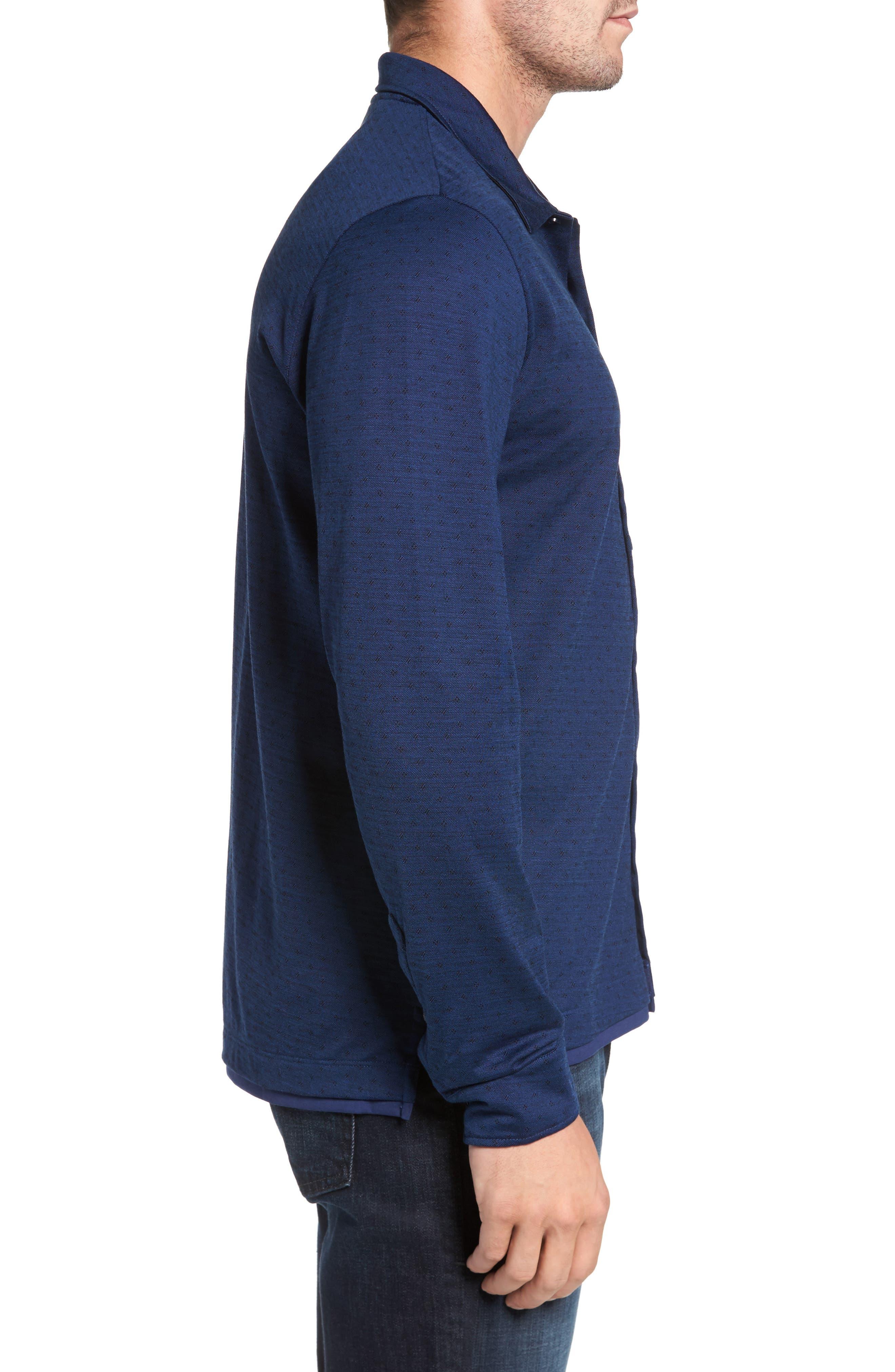 Jacquard Knit Sport Shirt,                             Alternate thumbnail 11, color,